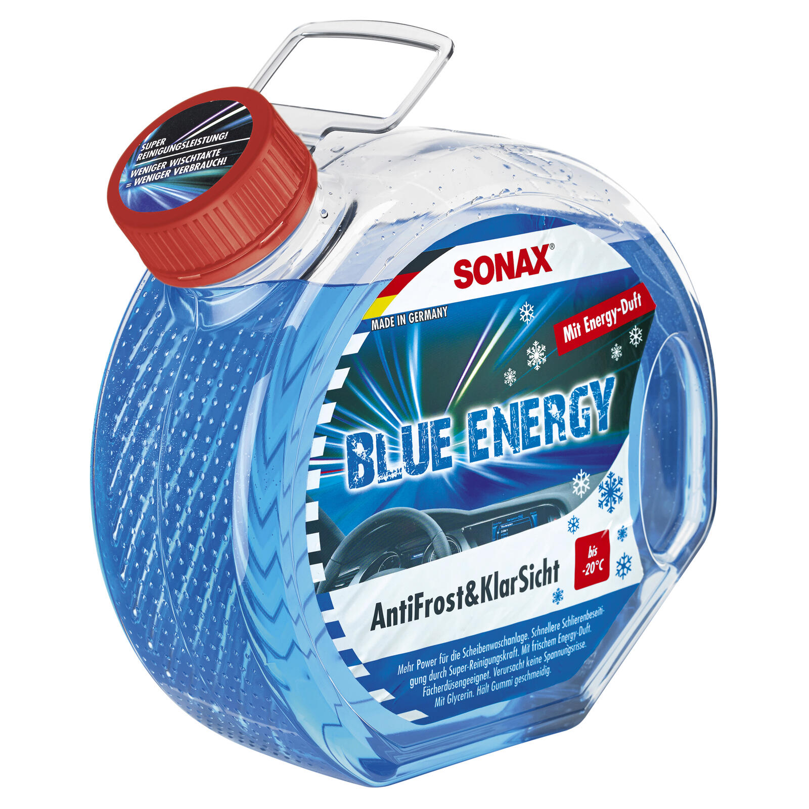 SONAX AntiFrost&KlarSicht BlueEnergy -20°C 3l