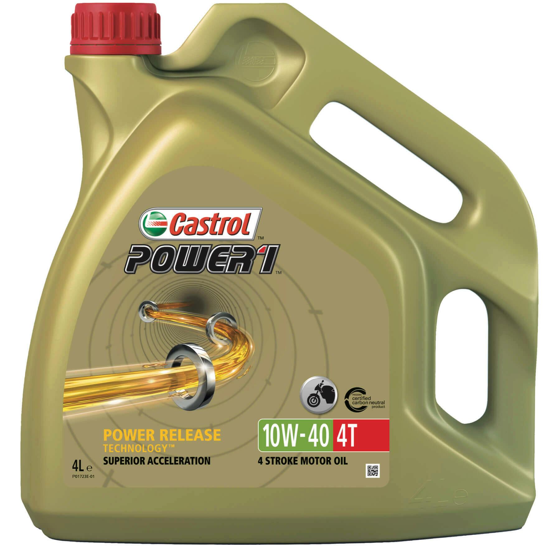 CASTROL Motoröl POWER 1 4T 10W-40 4L