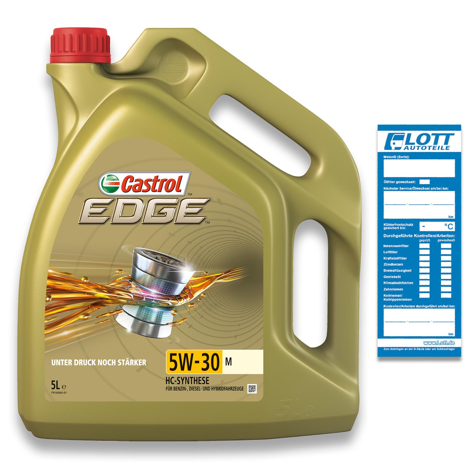 CASTROL Motoröl EDGE 5W-30 M
