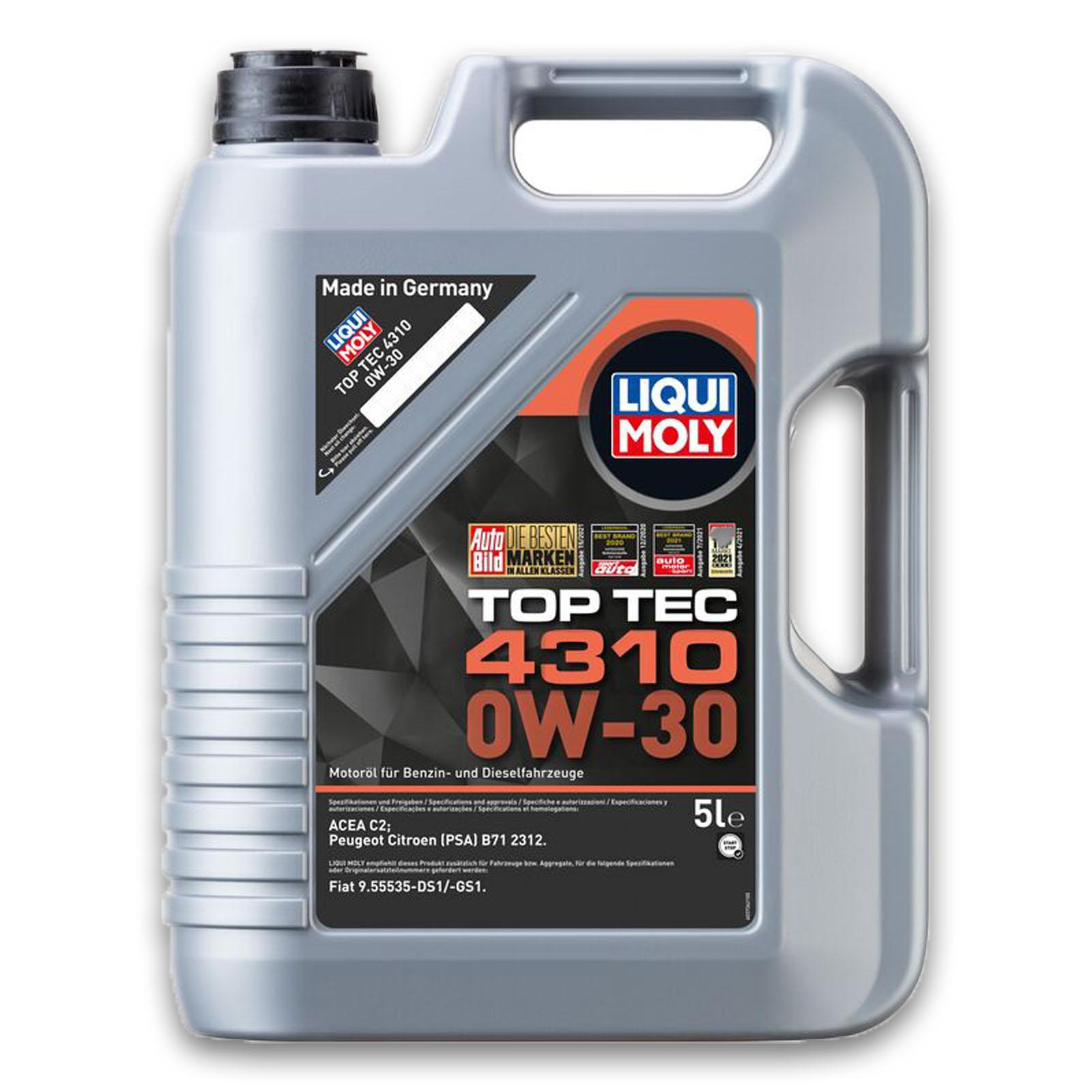 LIQUI MOLY Motoröl Top Tec 4310 0W-30