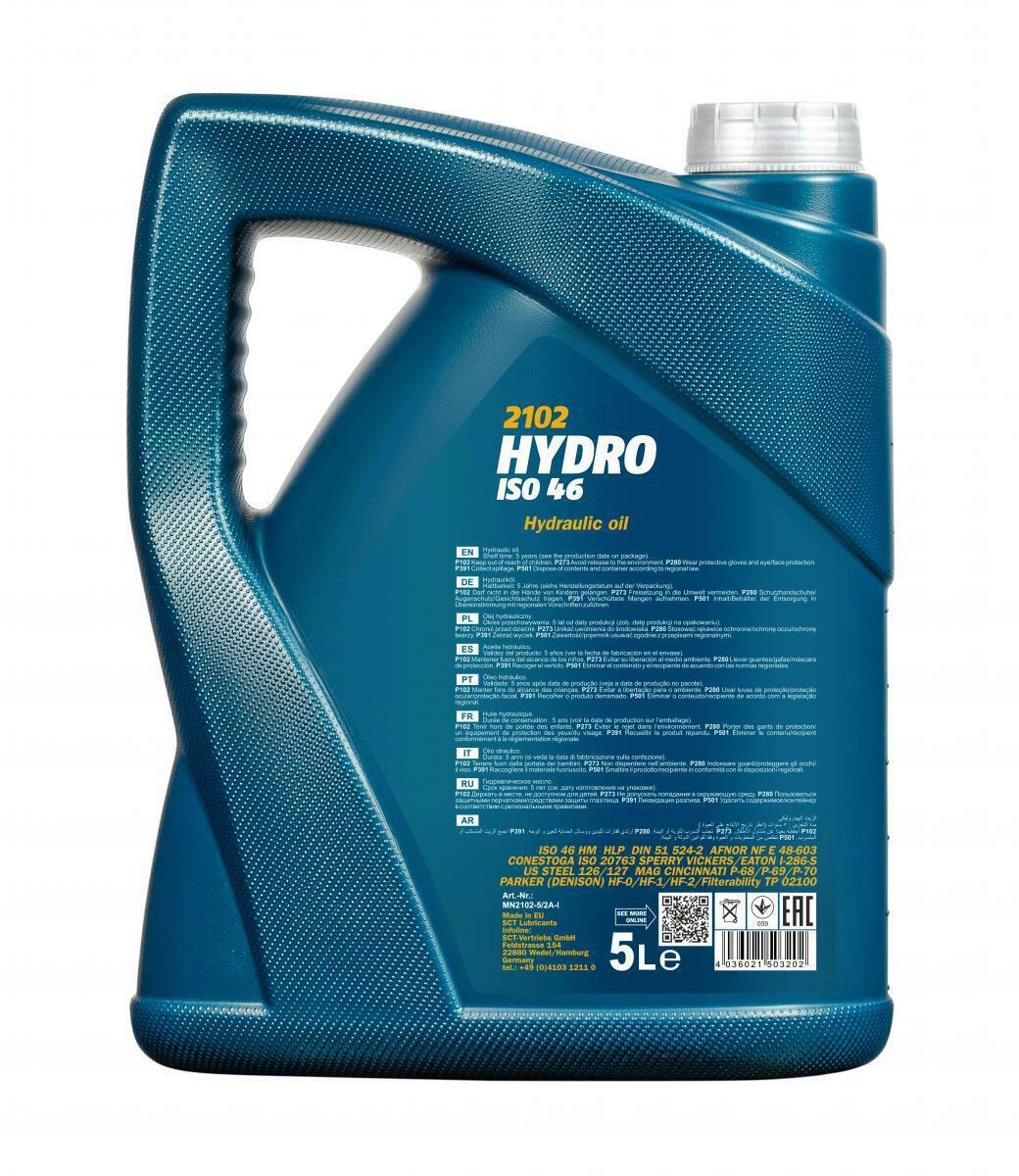 5L Mannol Hydrauliköl