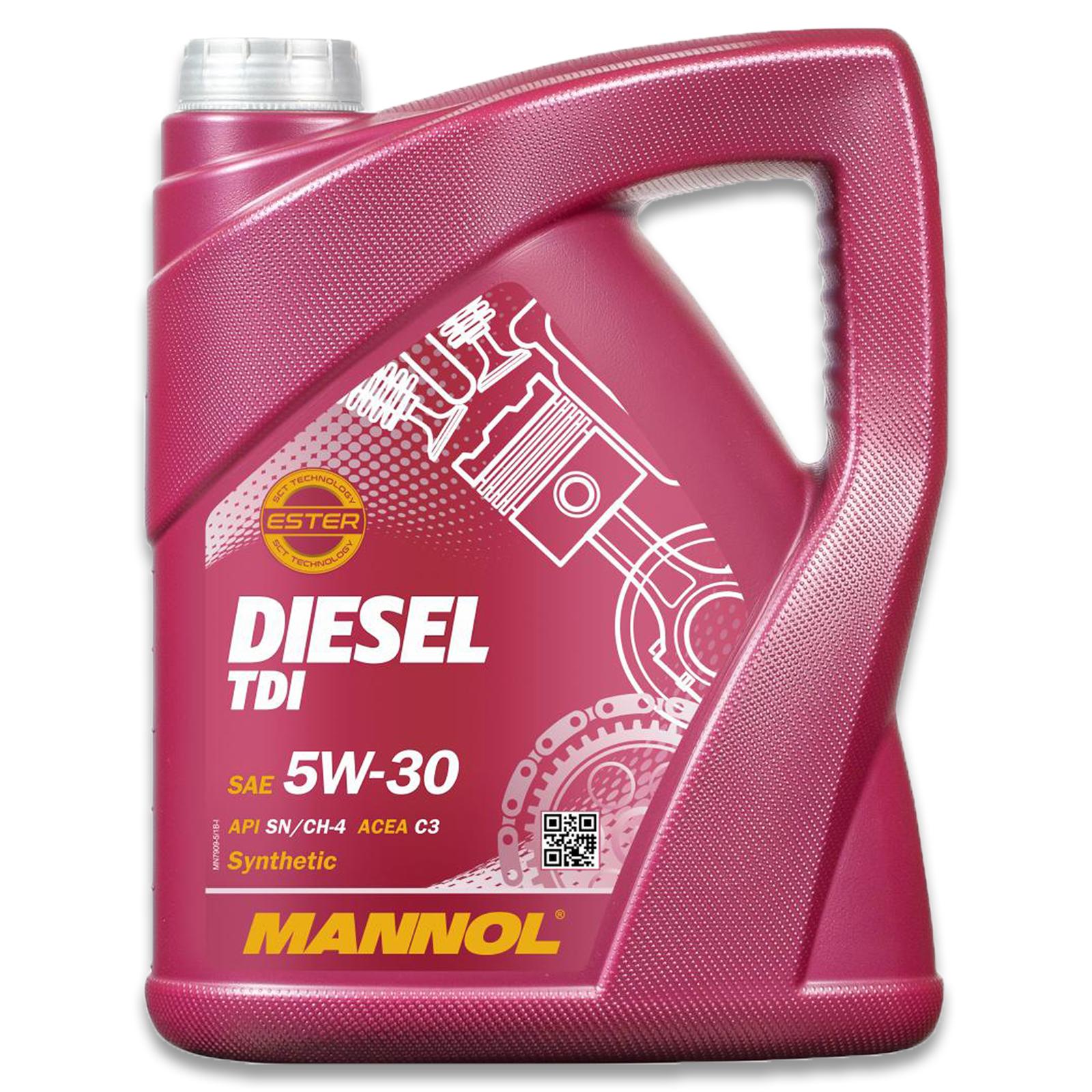 Mannol Motoröl Diesel TDI 5W-30 5L