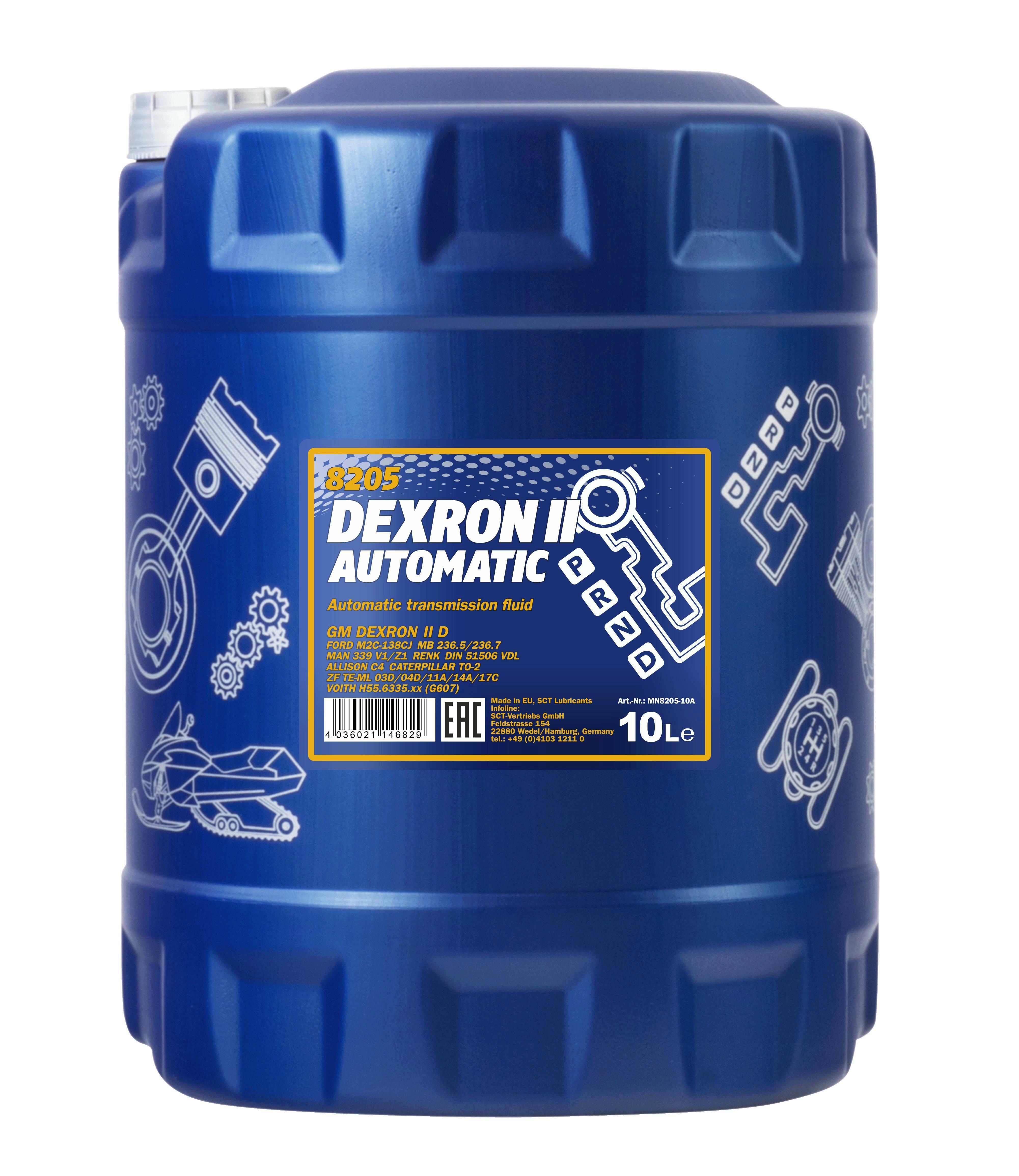 10L Mannol Dexron 2 Automatikgetriebeöl