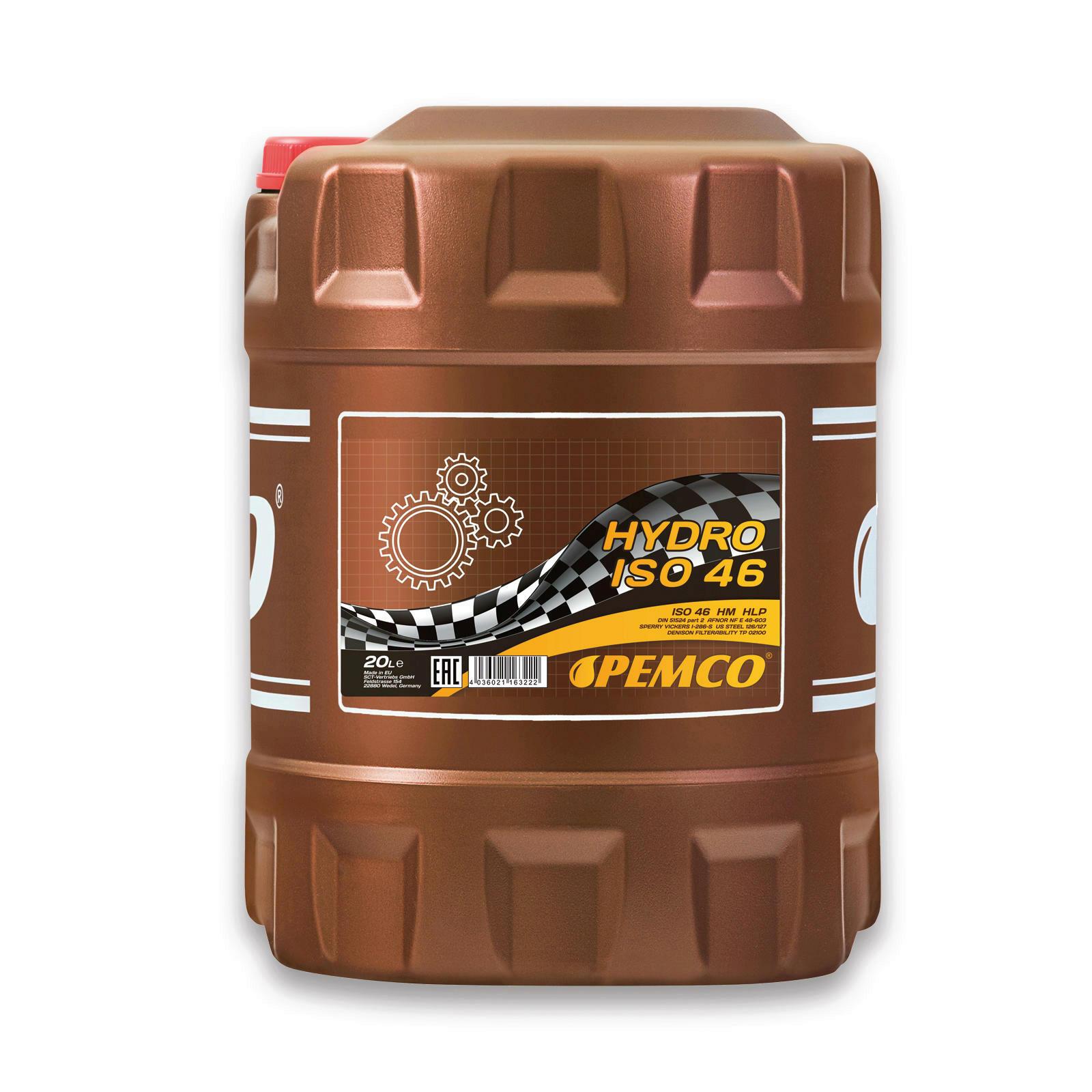 20L PEMCO Hydrauliköl ISO 46
