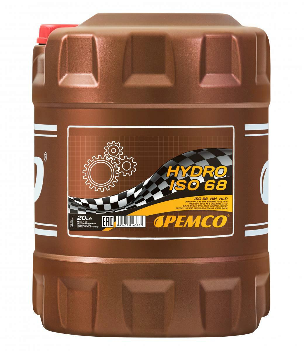 20L Pemco Hydro Hydrauliköl ISO 68