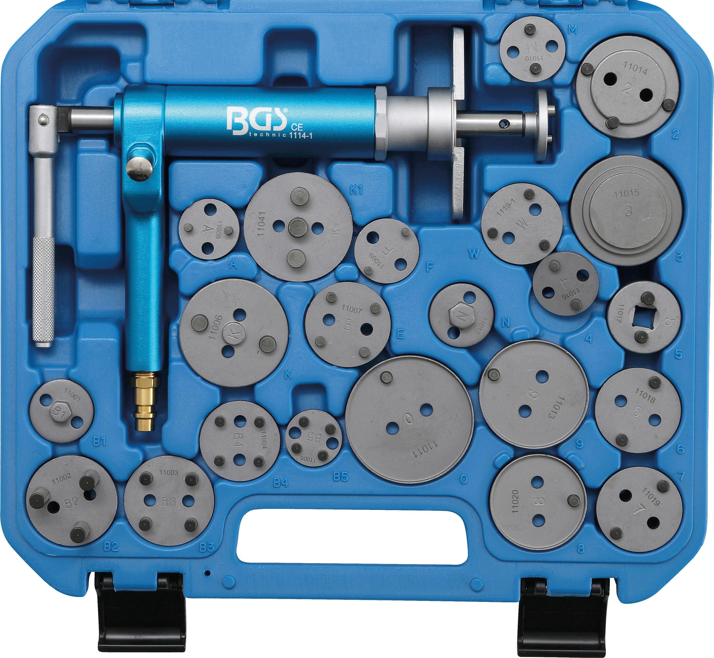 BGS Dreh-/Rückstellwerkzeugsatz, Bremssattelkolben