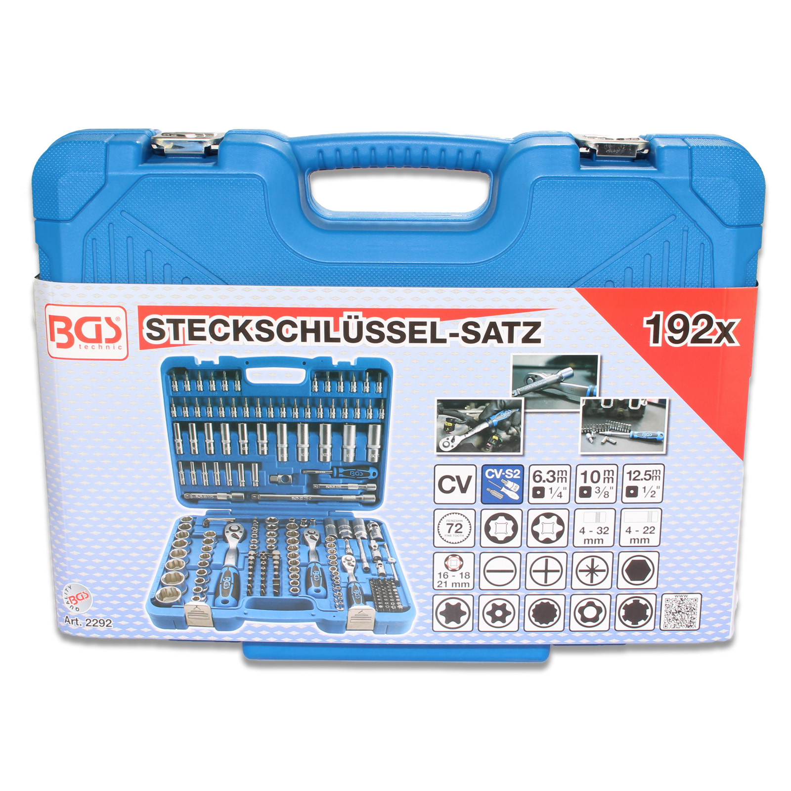 BGS Steckschlüsselsatz 2292