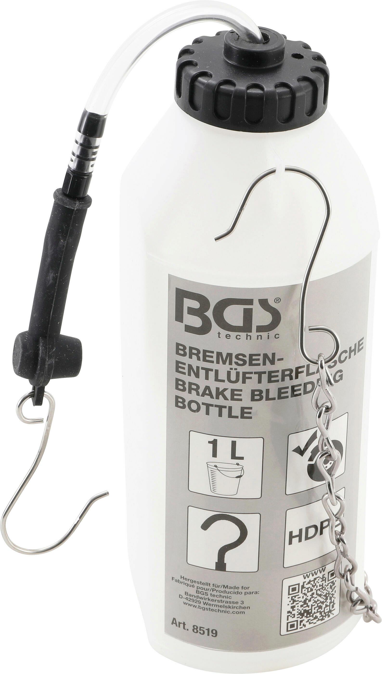 BGS Auffangbehälter, Bremssystementlüftung
