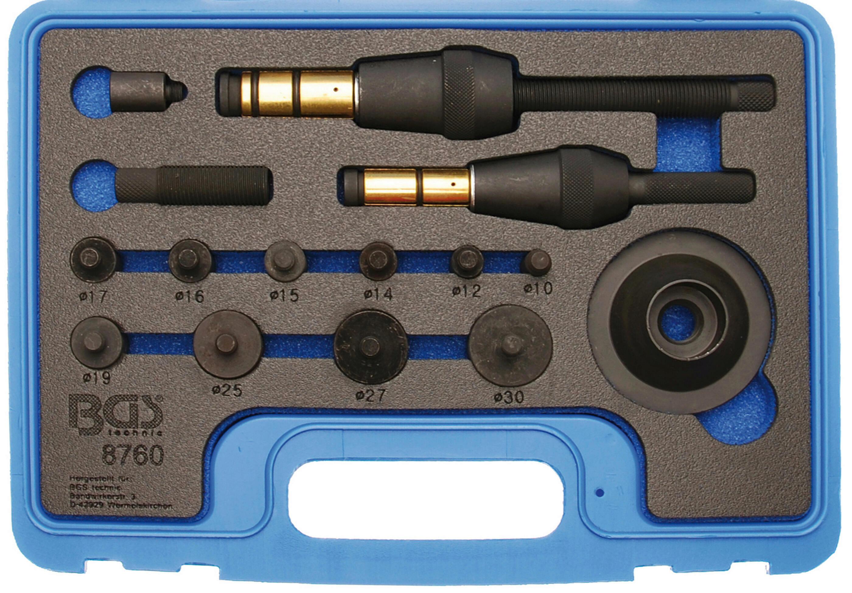 BGS Zentrierwerkzeugsatz, Kupplung