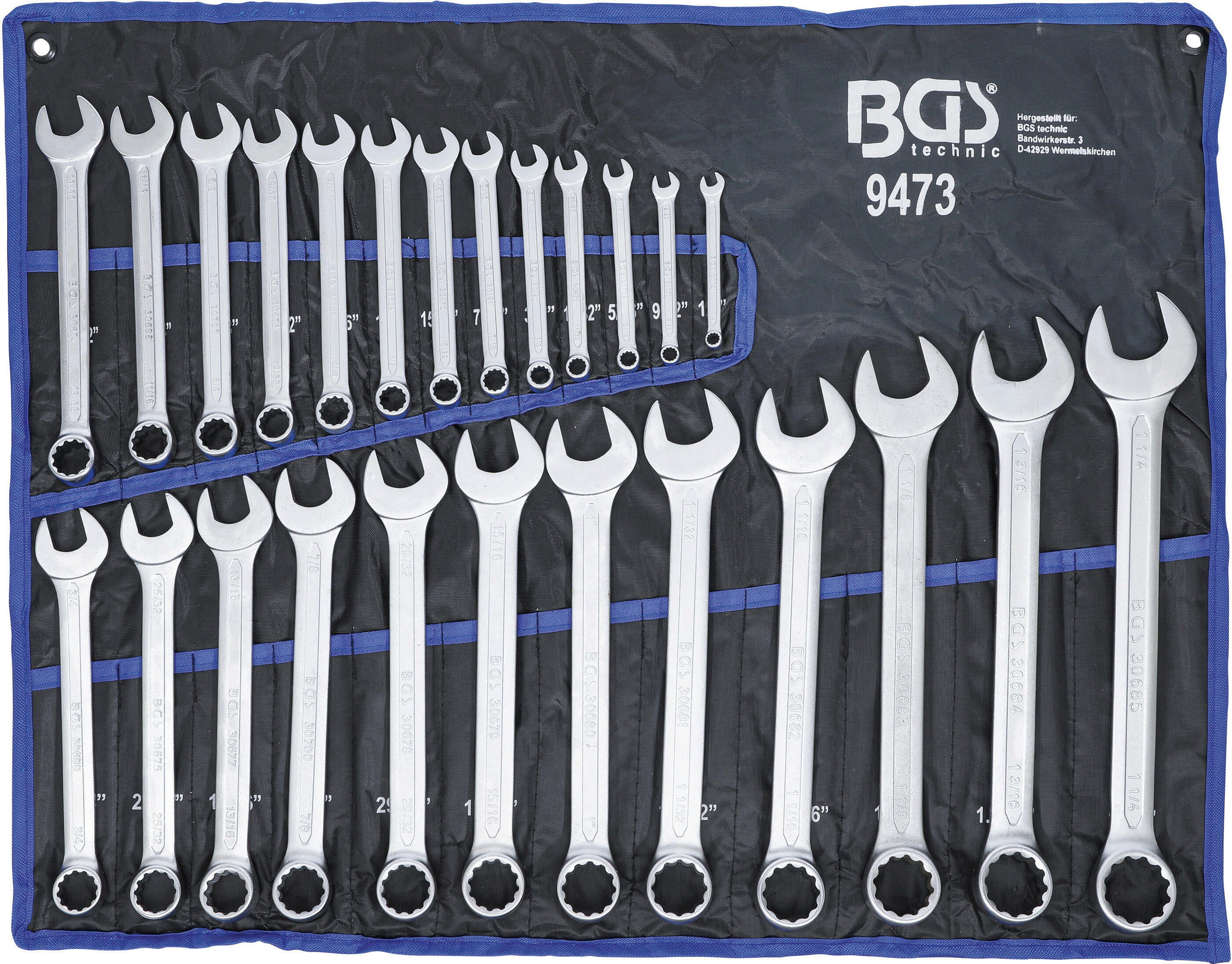 BGS Ring-/Gabelschlüsselsatz