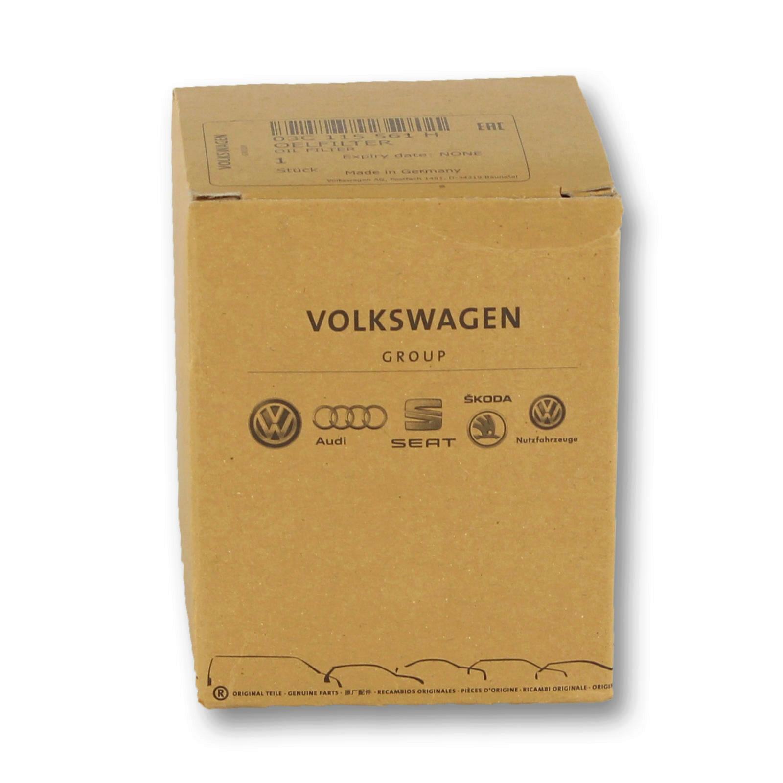 Original VW-AUDI Ölfilter 03C115561H
