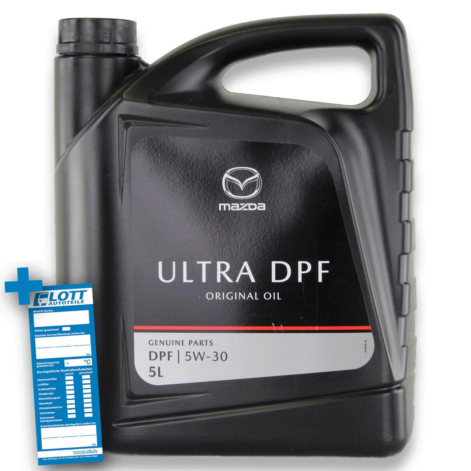 5L Original MAZDA Motoröl Ultra DPF 5W-30