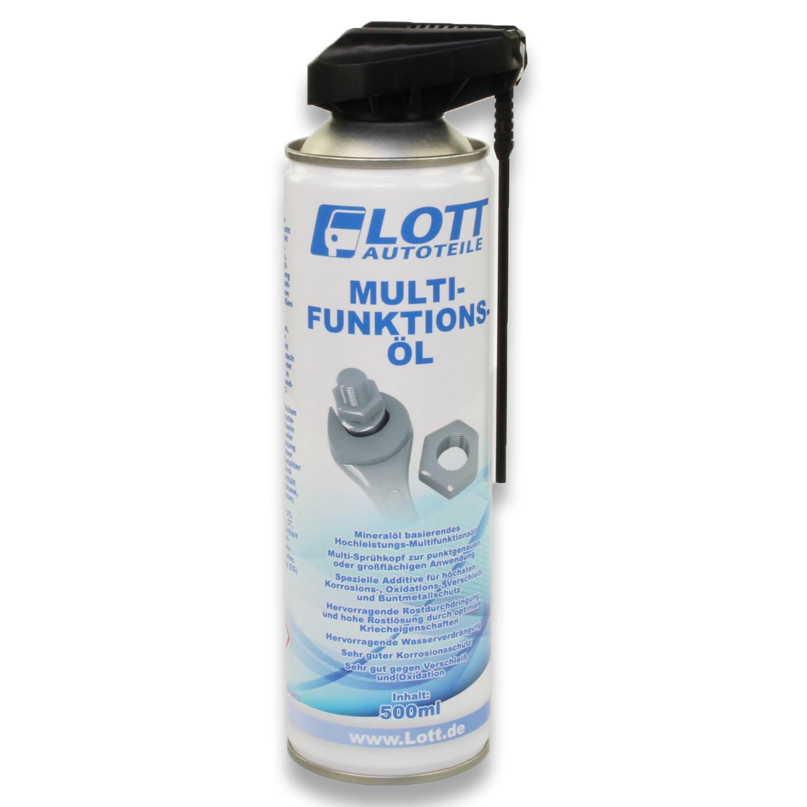 Lott Multifunktionsöl mit 2-Wege Sprühkopf 500ml