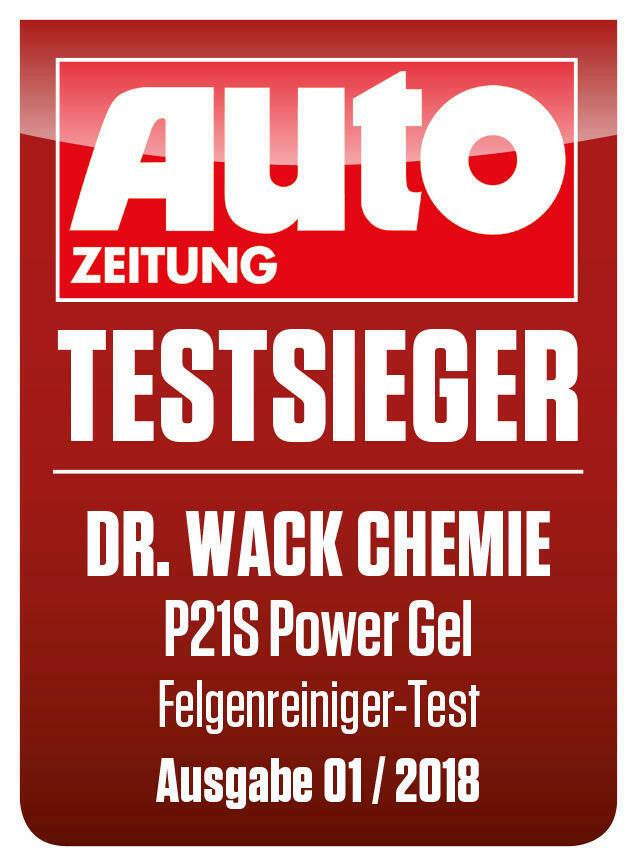 Dr. Wack Felgenreiniger Powergel P21S einfach schnell saeurefrei hoch ergiebig