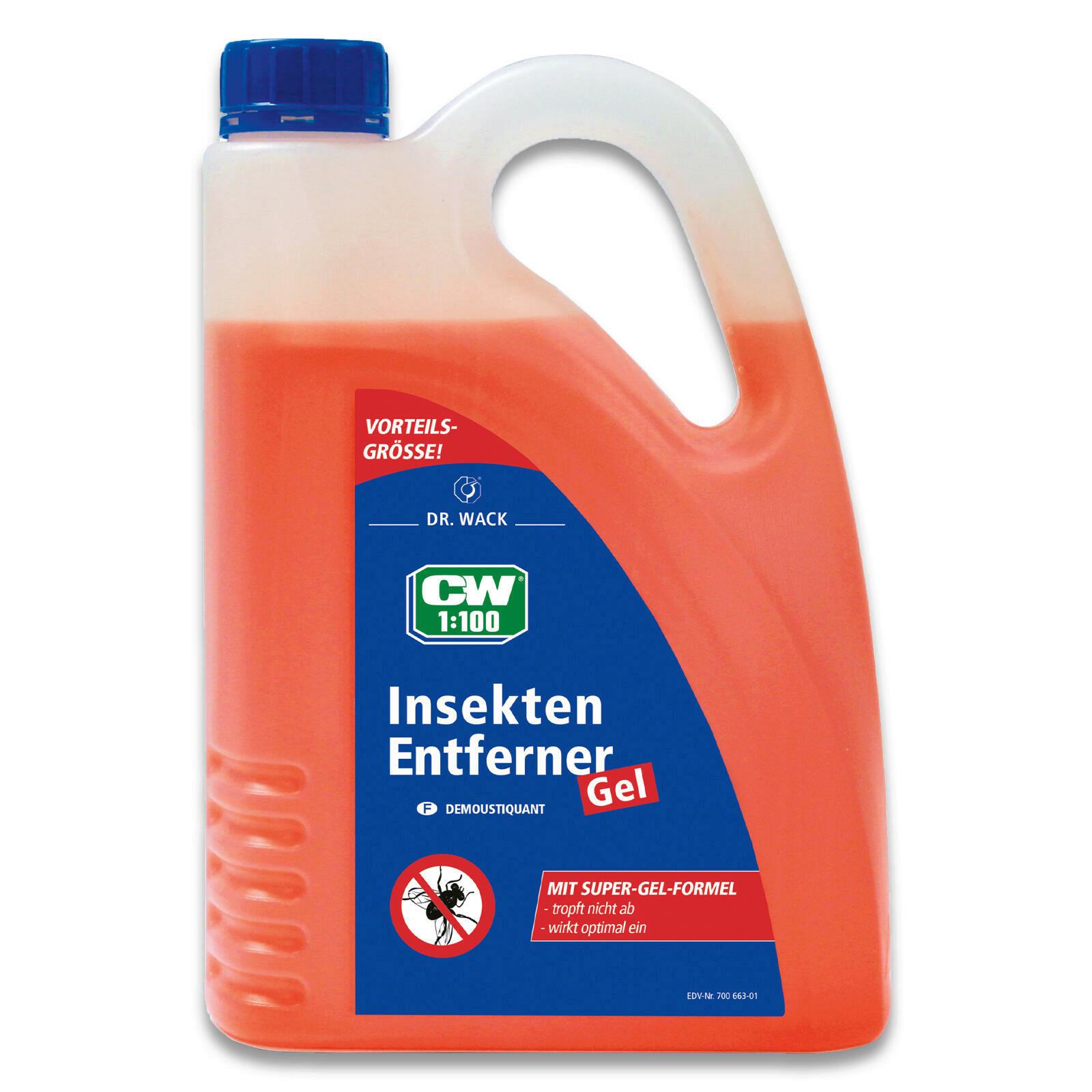 CW1:100 Insekten-Entferner Gel 2L