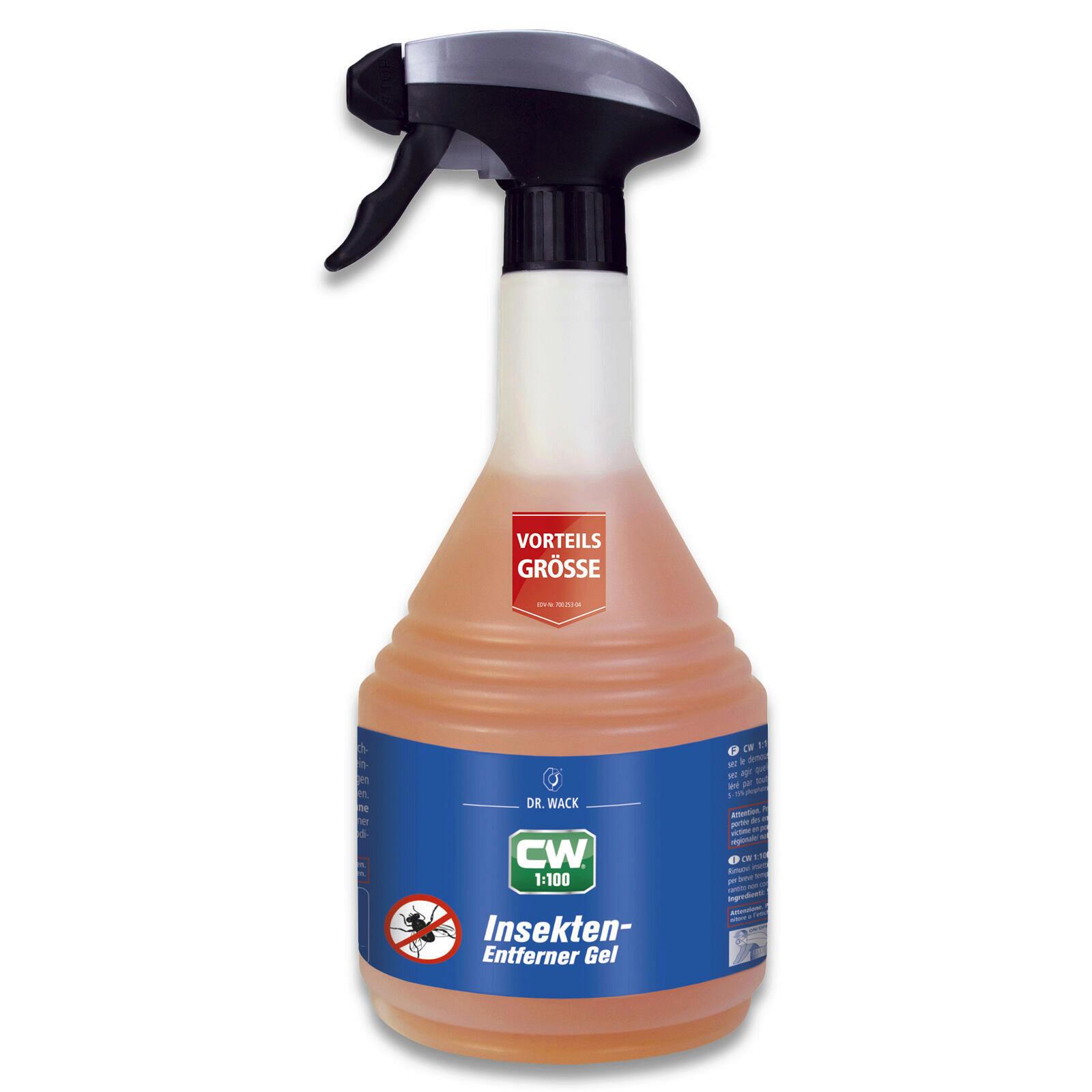 Dr.Wack CW 1:100 Insekten-Entferner-Gel 750ml