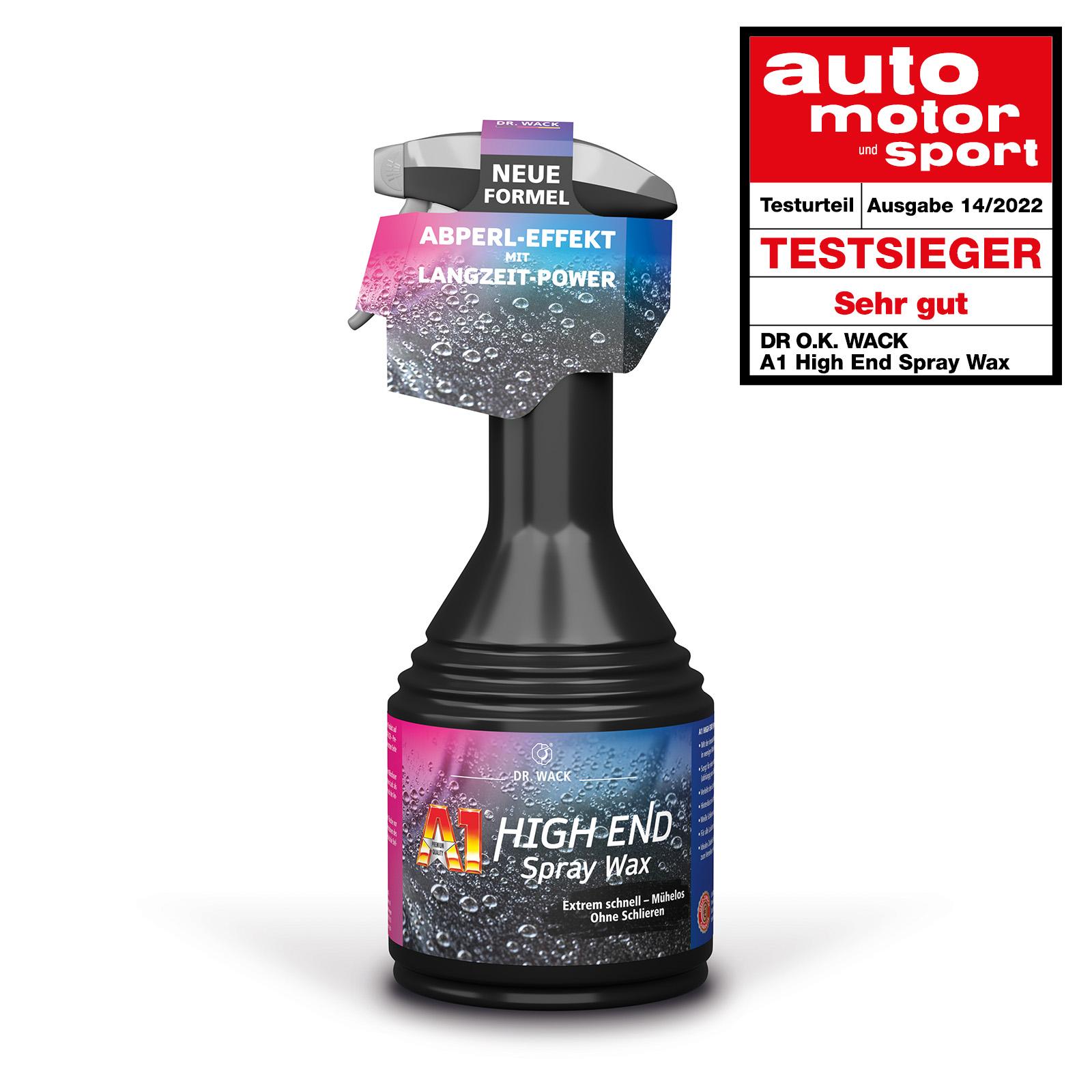 Dr.Wack A1 High End Spray Wax Wachs 500ml