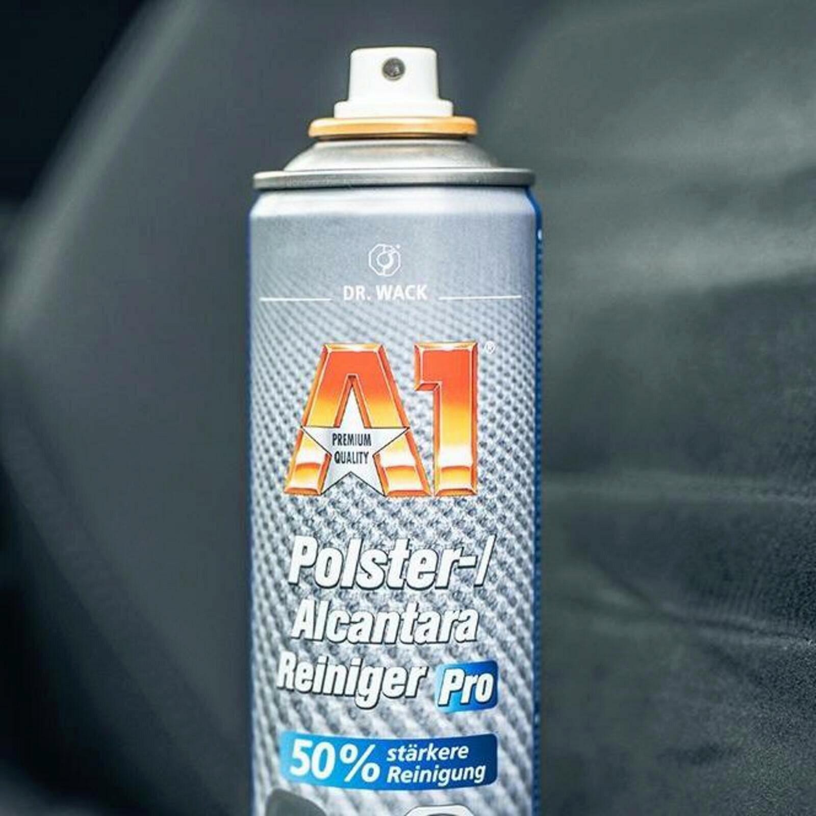 Dr. Wack A1 Polster-Schaum-Reiniger 400ml ATL starke Reinigungskraft