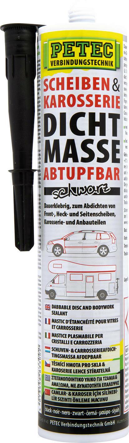 Scheiben- & Karosseriedichtmasse Kartusche
