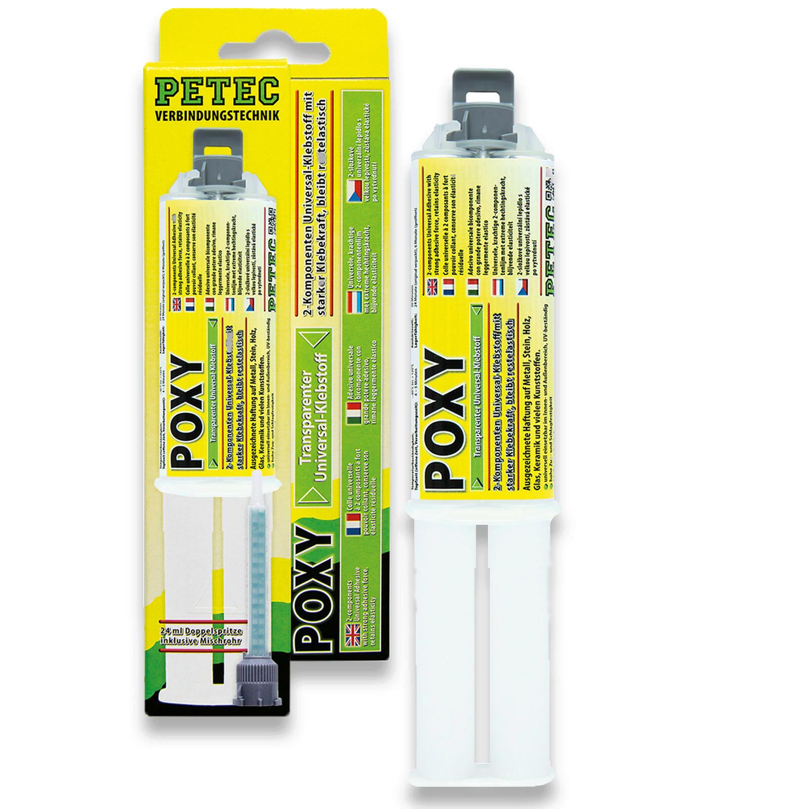 PETEC Flüssigmetall Poxy 24ml Universalkleber