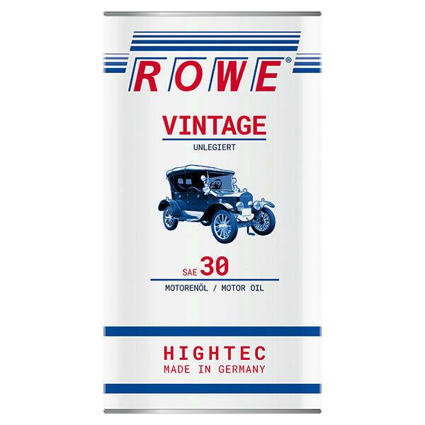 5L ROWE SAE 30 Vintage Motoröl