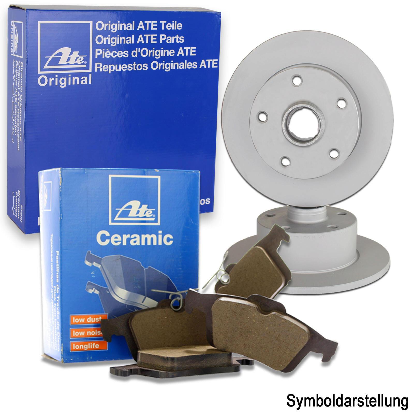 ATE Bremsscheiben + ATE Ceramic Bremsbeläge