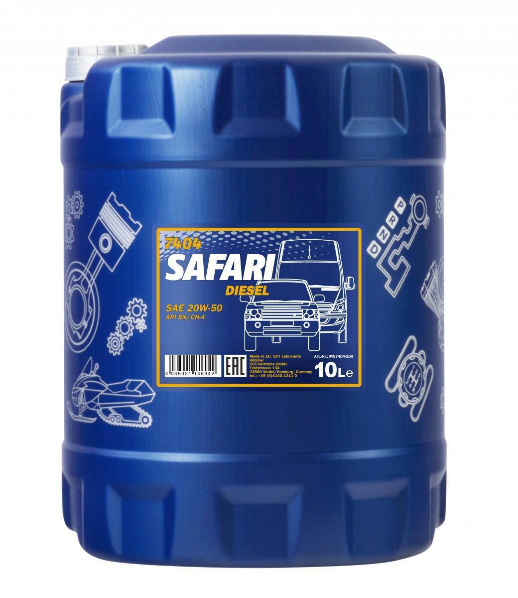 Mannol Safari 20W-50 Motoröl 10L