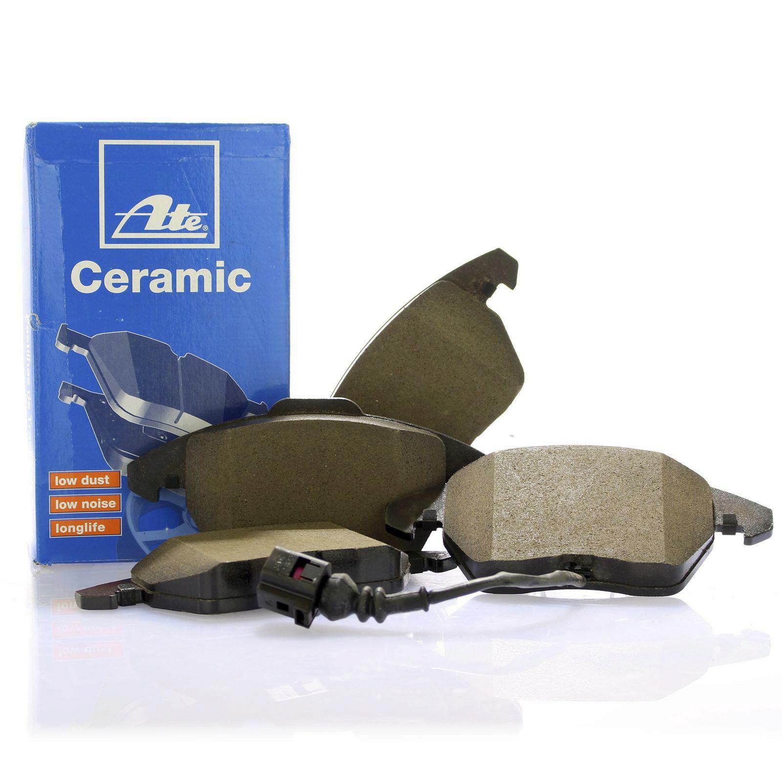 original ate ceramic bremsbel ge bremskl tze vorne f r. Black Bedroom Furniture Sets. Home Design Ideas