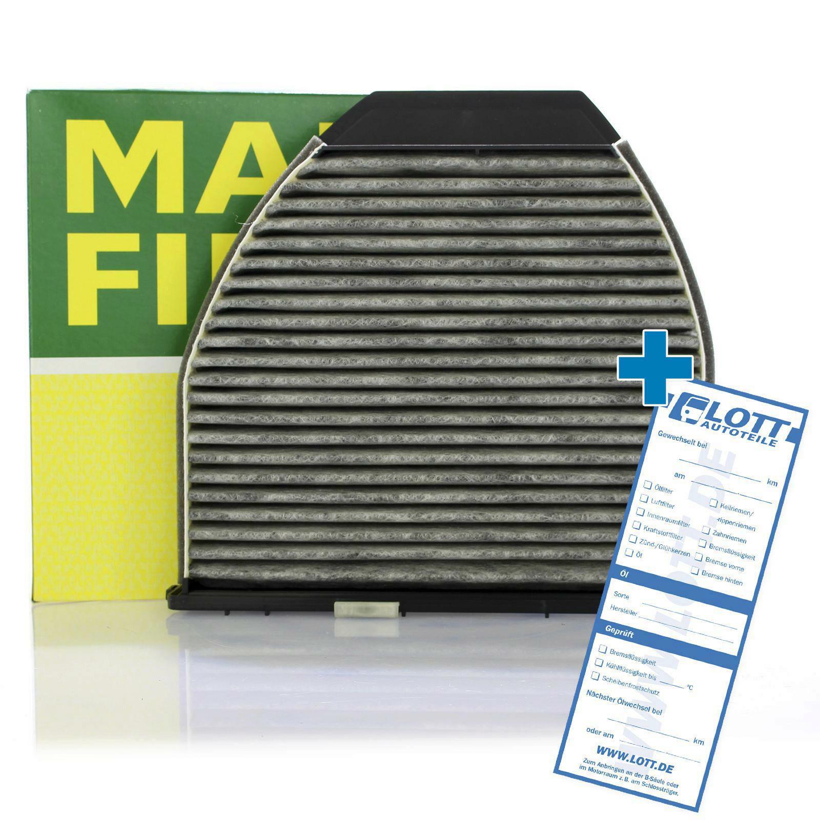 MANN-FILTER Filter, interior air adsotop