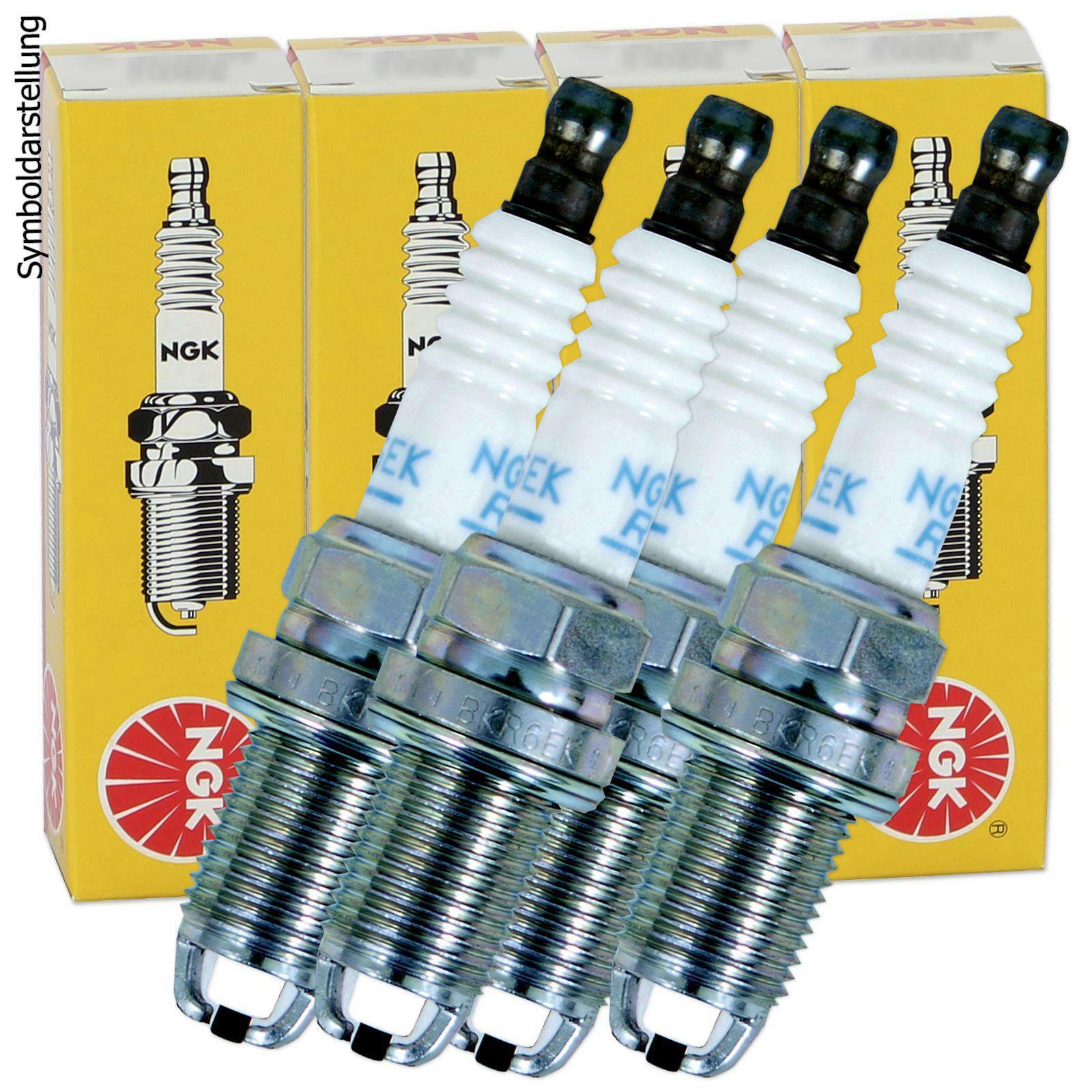 4x NGK Spark Plug V-Line 23