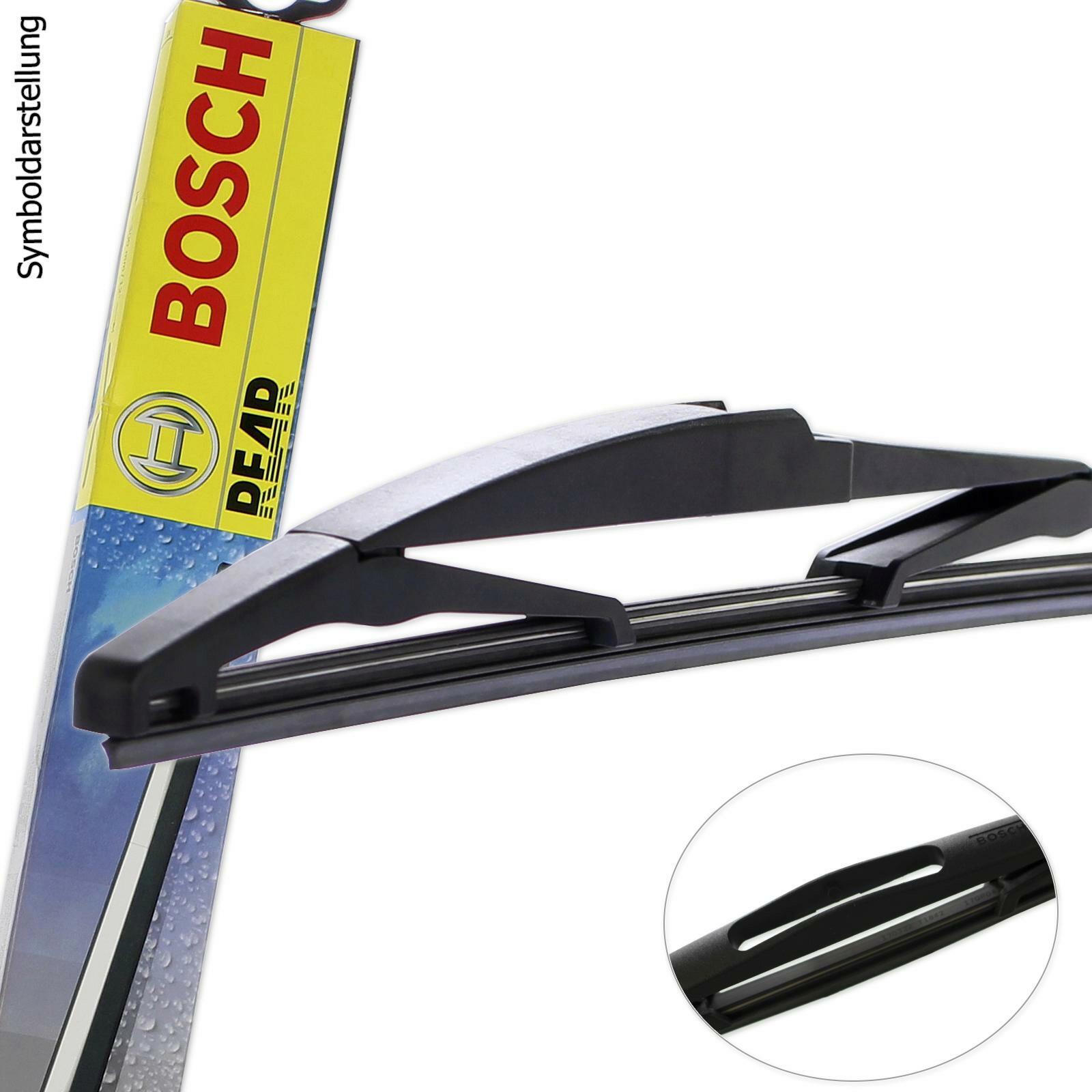 bosch scheibenwischer hinten heck wischblatt 350mm h 351. Black Bedroom Furniture Sets. Home Design Ideas