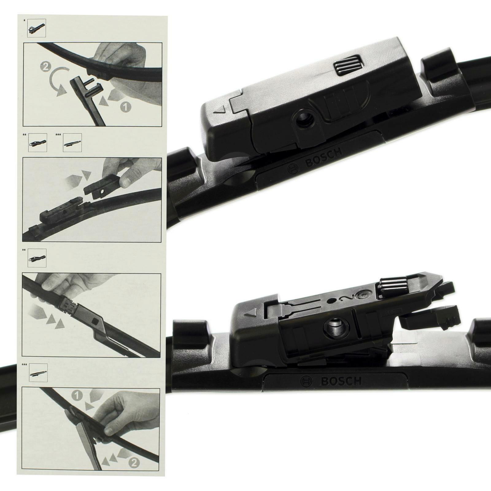 BOSCH Scheibenwischer / Wischblatt Aerotwin Multi-Clip