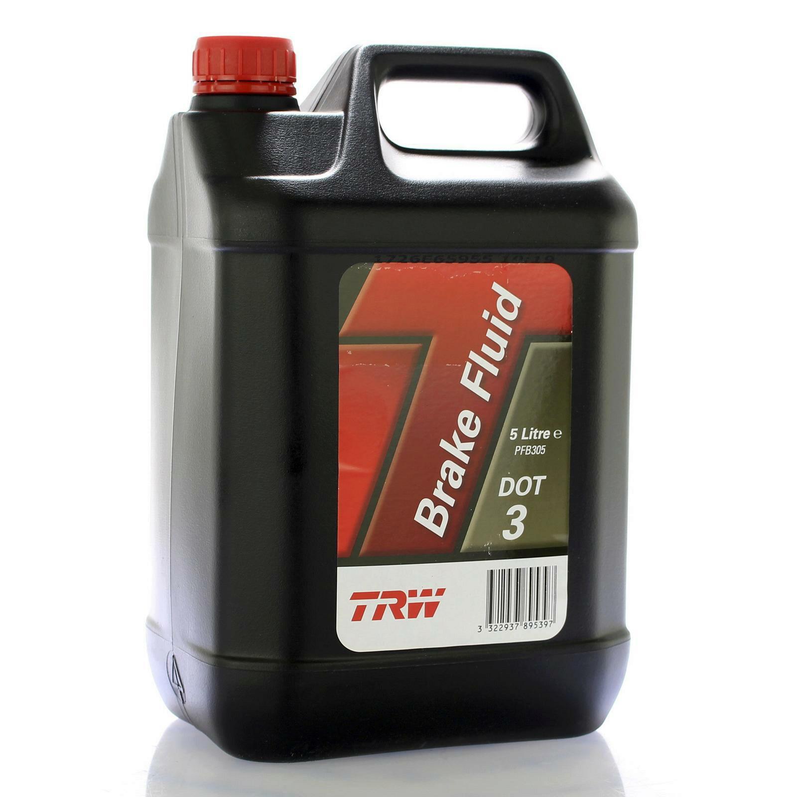 TRW Bremsflüssigkeit 5L DOT 3