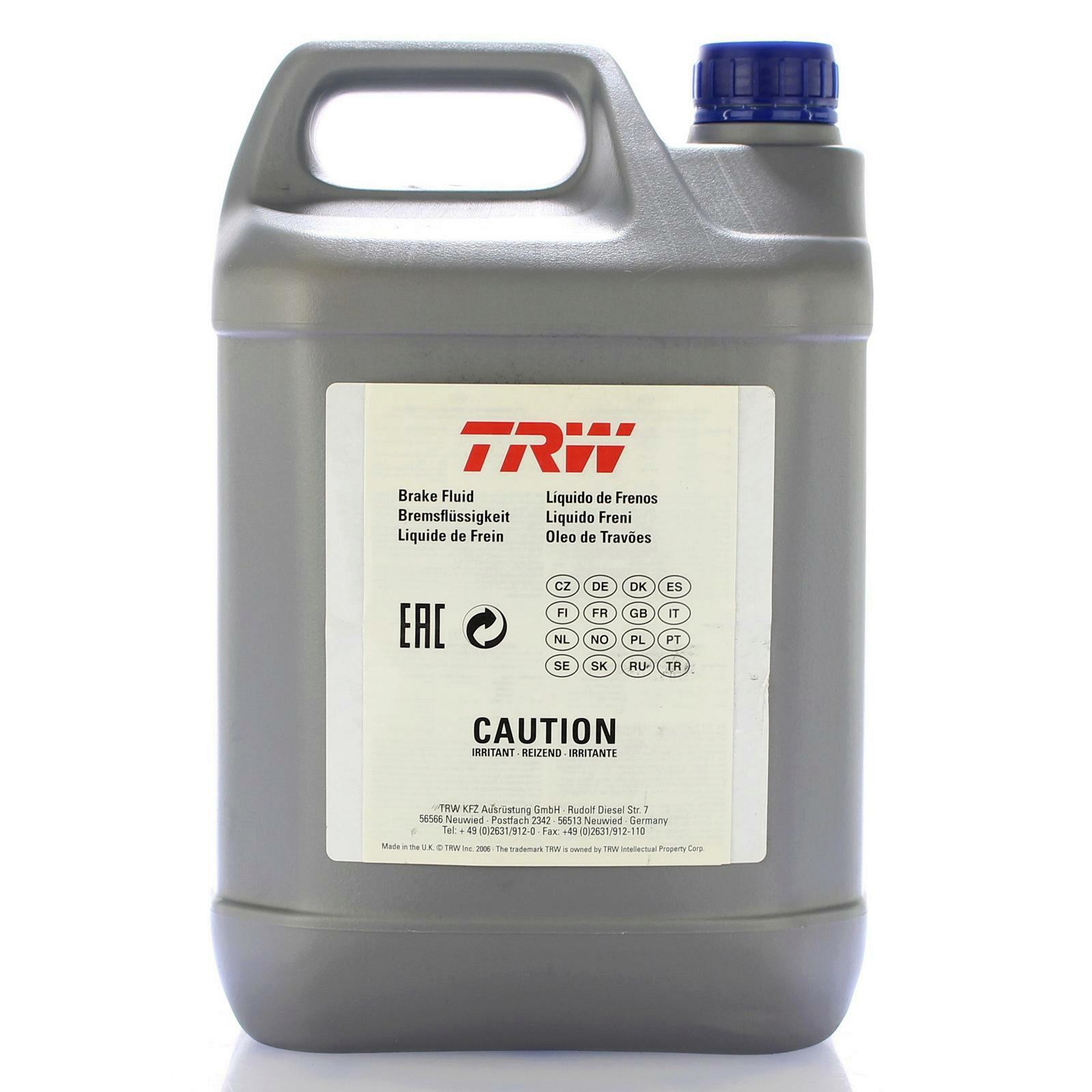 TRW Bremsflüssigkeit 5L DOT - ESP