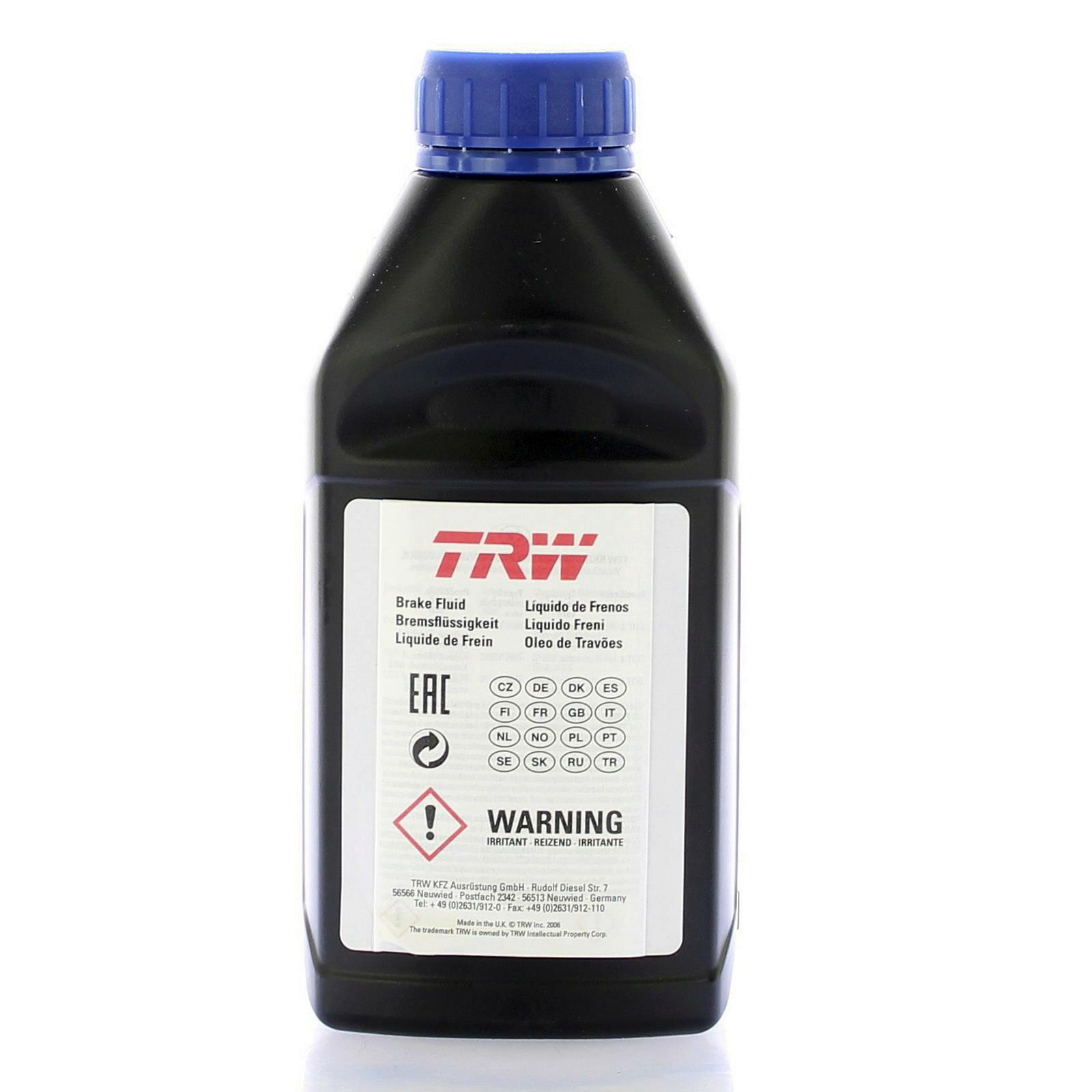 TRW Bremsflüssigkeit 500ml DOT 4