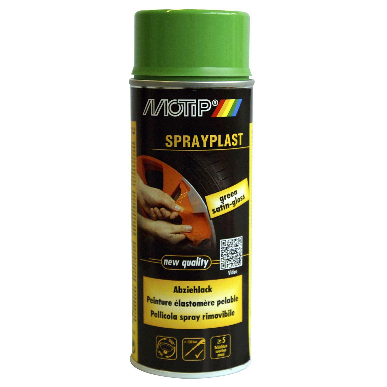 MOTIP Sprayplast Spray Abziehlack Lack grün 400ml