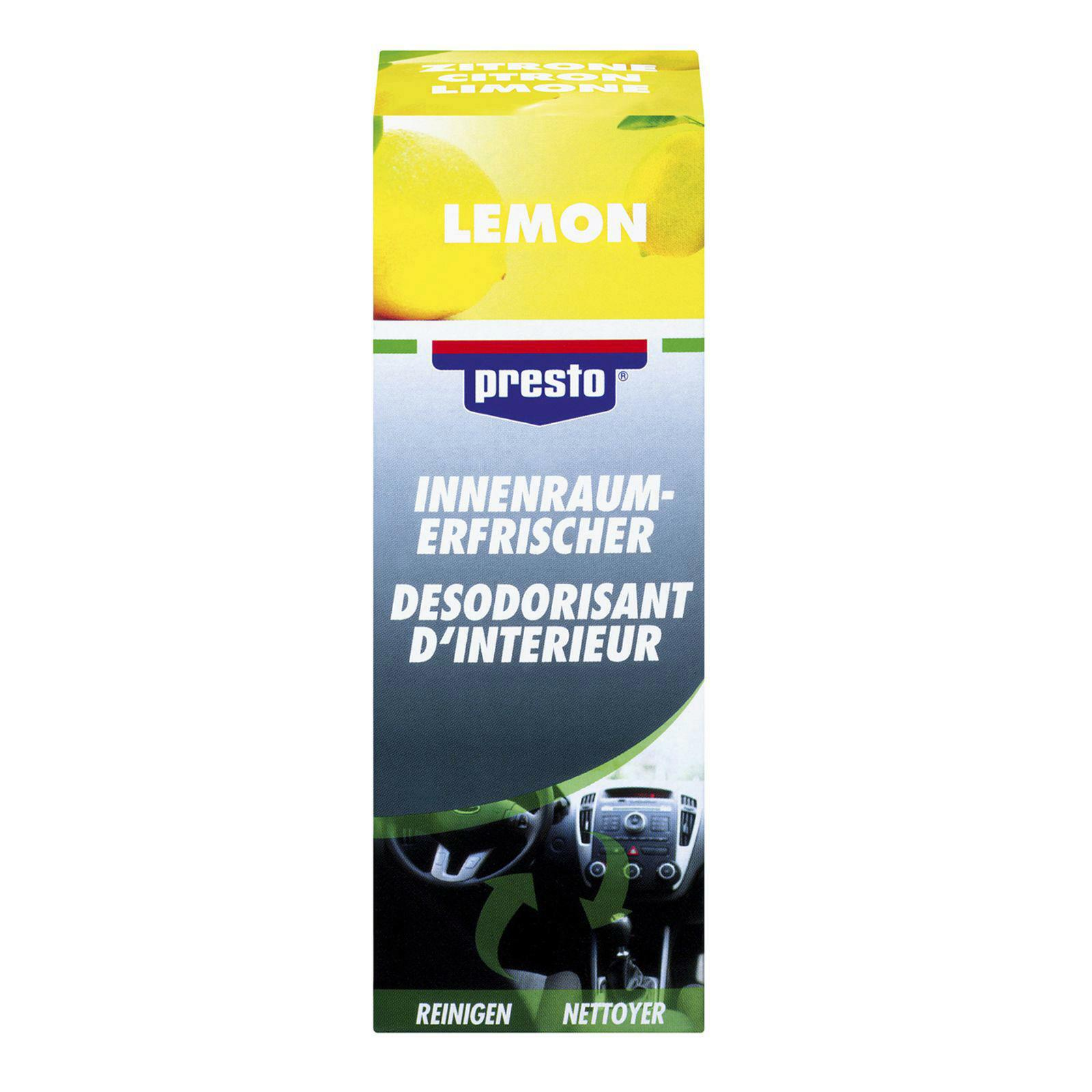 PRESTO Klimaanlagenreiniger Lemon 150ml