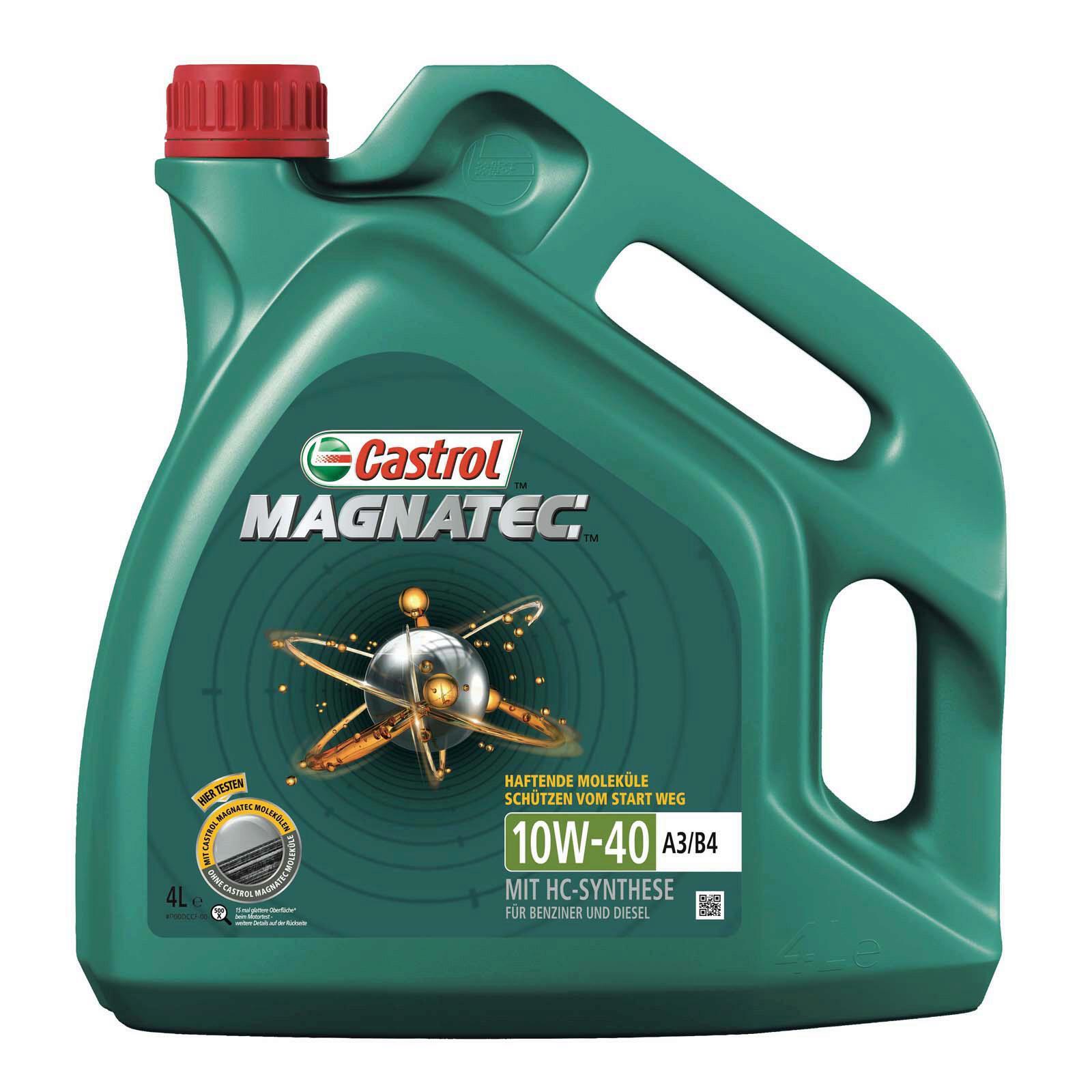 CASTROL Motoröl Magnatec A3/B4 10W-40 4L