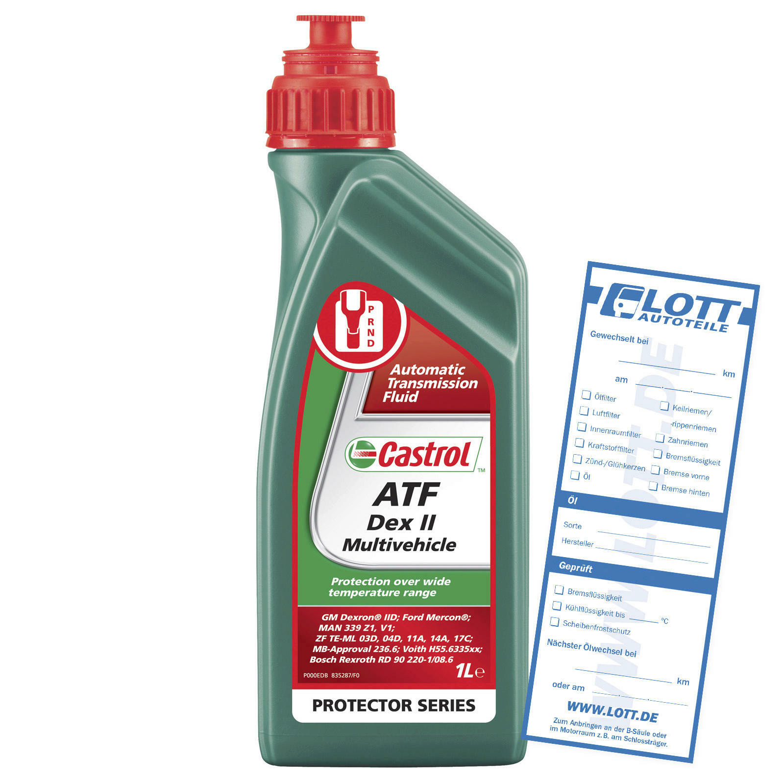 Automatikgetriebeöl Castrol ATF Dex II Multivehicle