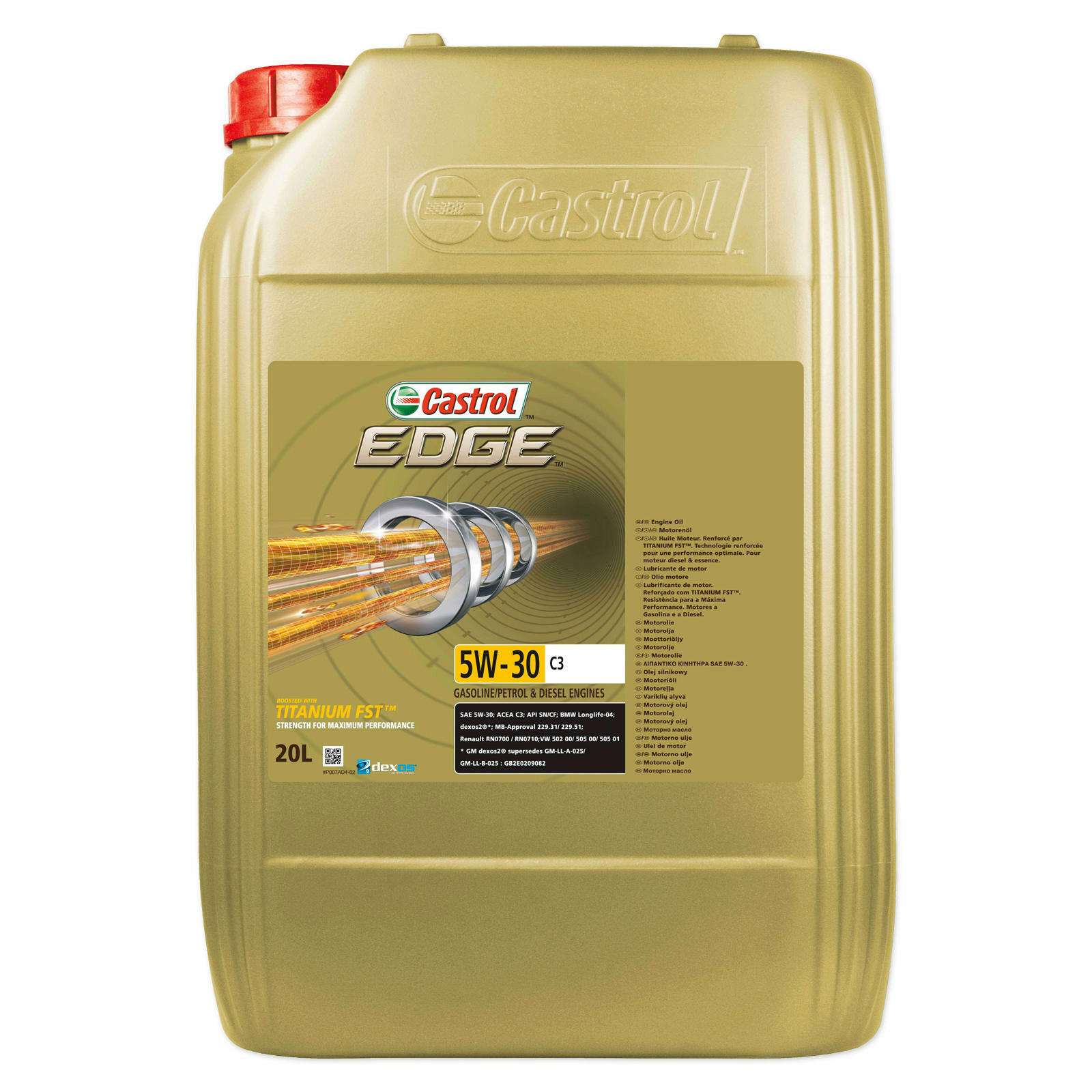castrol motor l edge 5w 30 20l lott autoteile. Black Bedroom Furniture Sets. Home Design Ideas