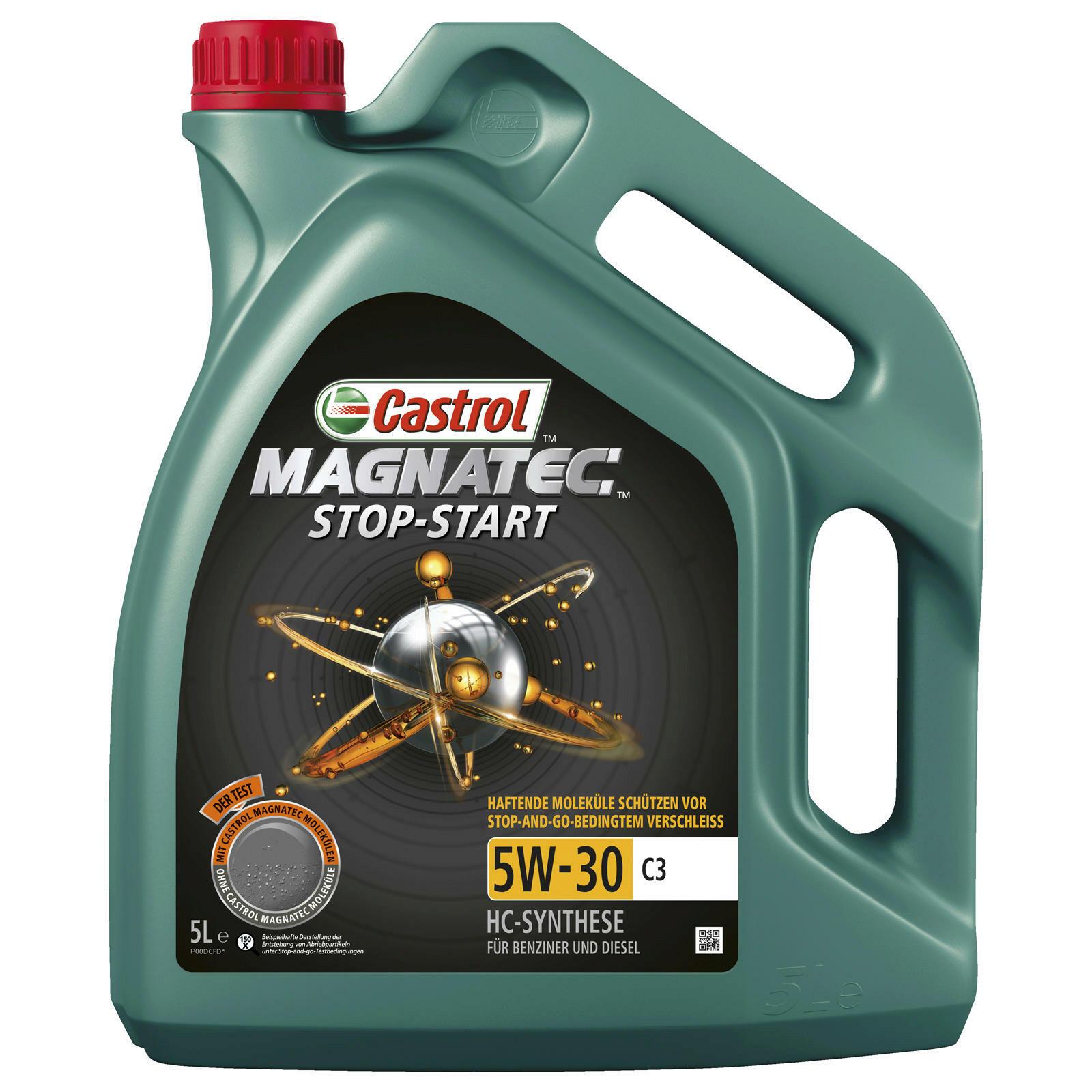 CASTROL Engine Oil MAGNATEC STOP-START 5W-30 C3