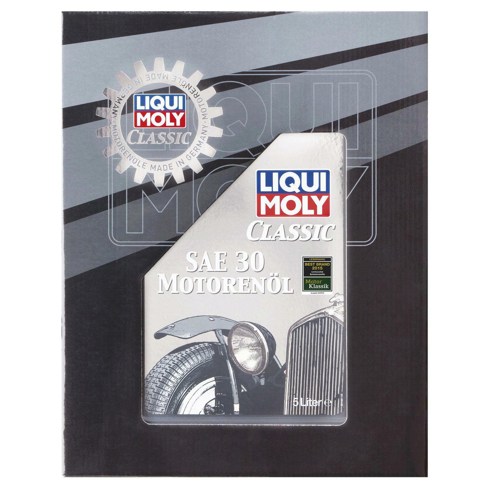 liqui moly classic motoren l sae 30 5l 1133 lott autoteile. Black Bedroom Furniture Sets. Home Design Ideas
