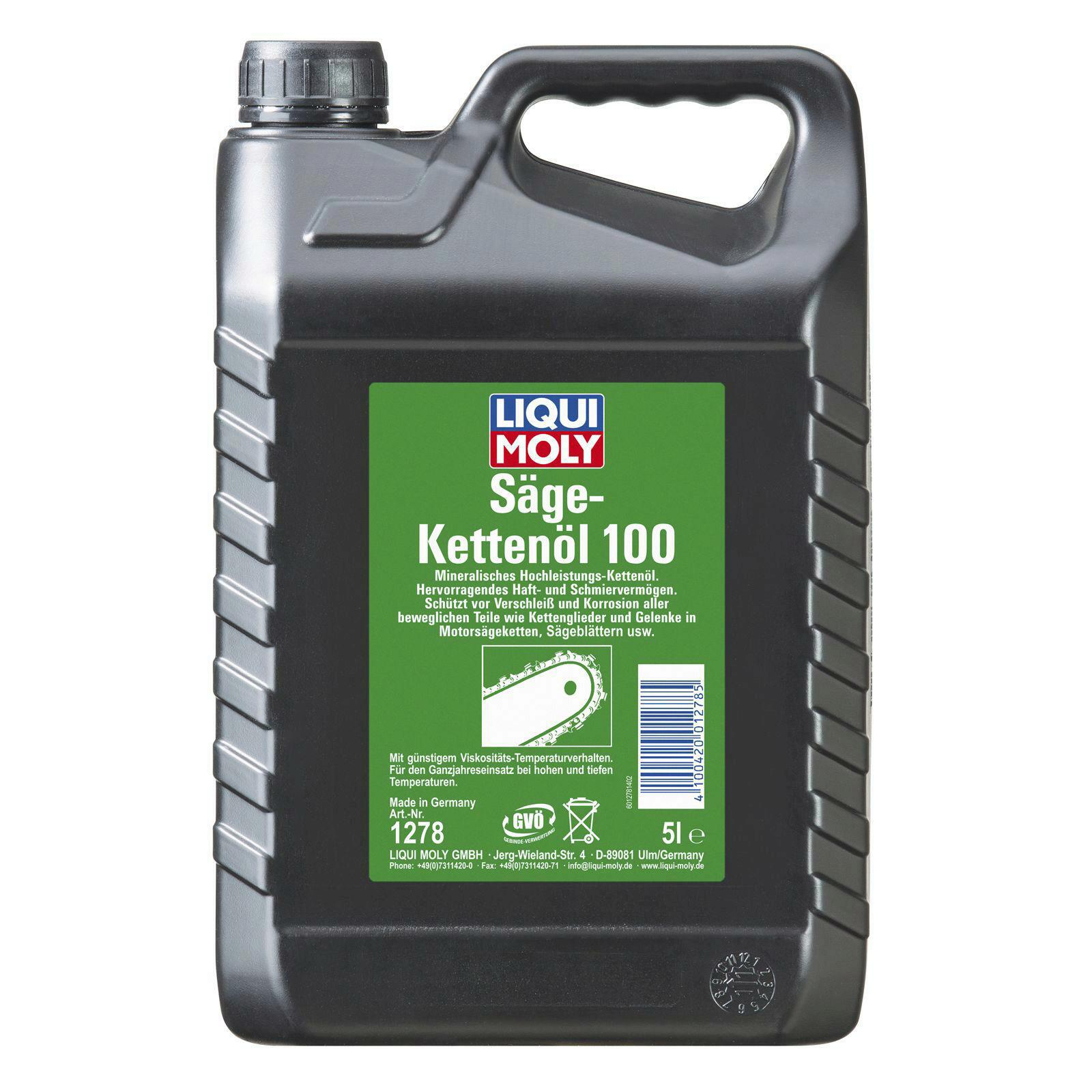 Liqui Moly Säge-Kettenöl 100 5l