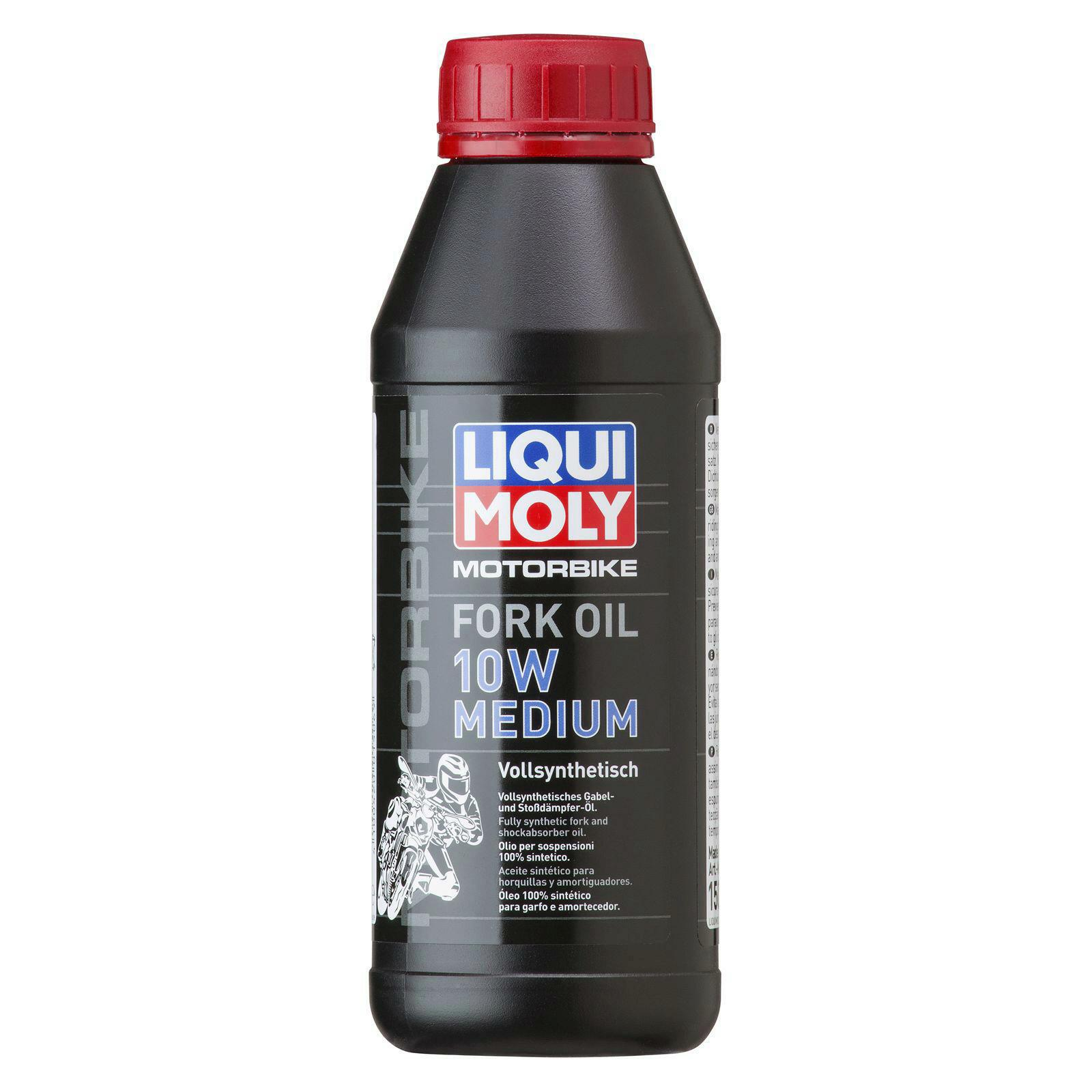 Liqui Moly Motorbike Fork Öl 10W Medium 500ml