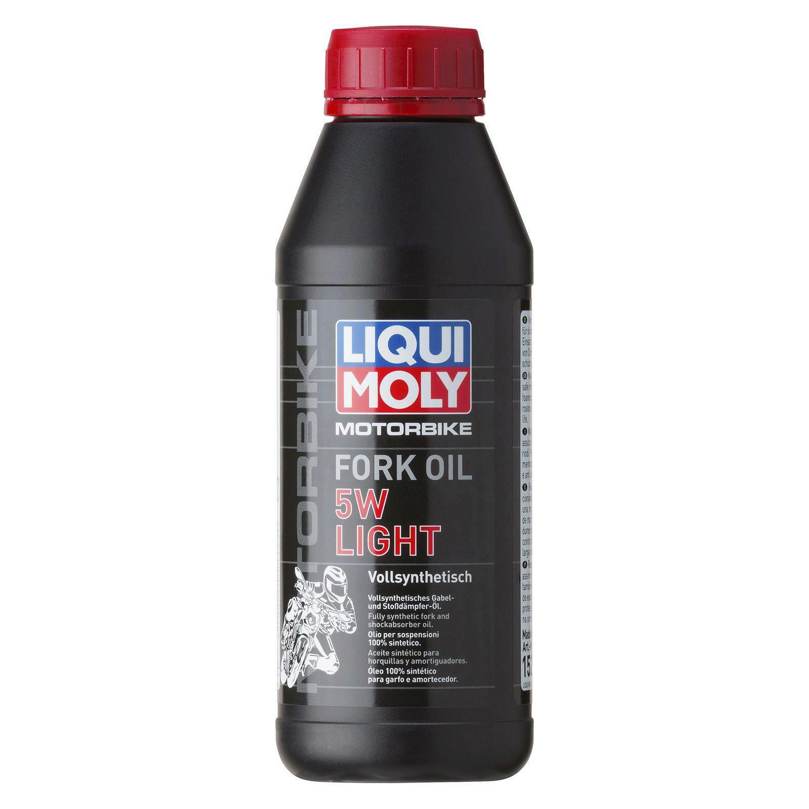 Liqui Moly Motorbike Fork Öl 5W light 500ml