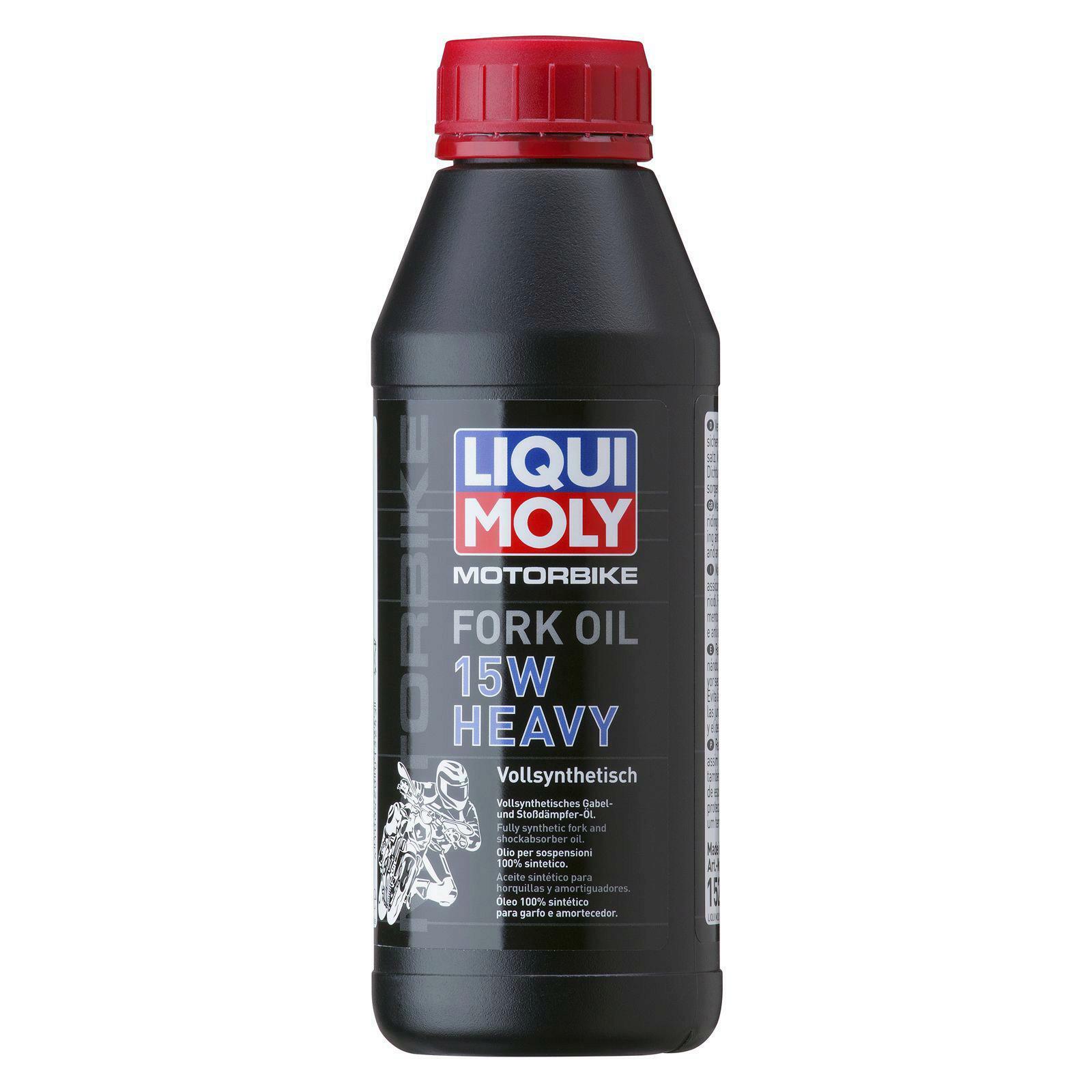 Liqui Moly otorbike Fork Öl 15W Heavy 500ml