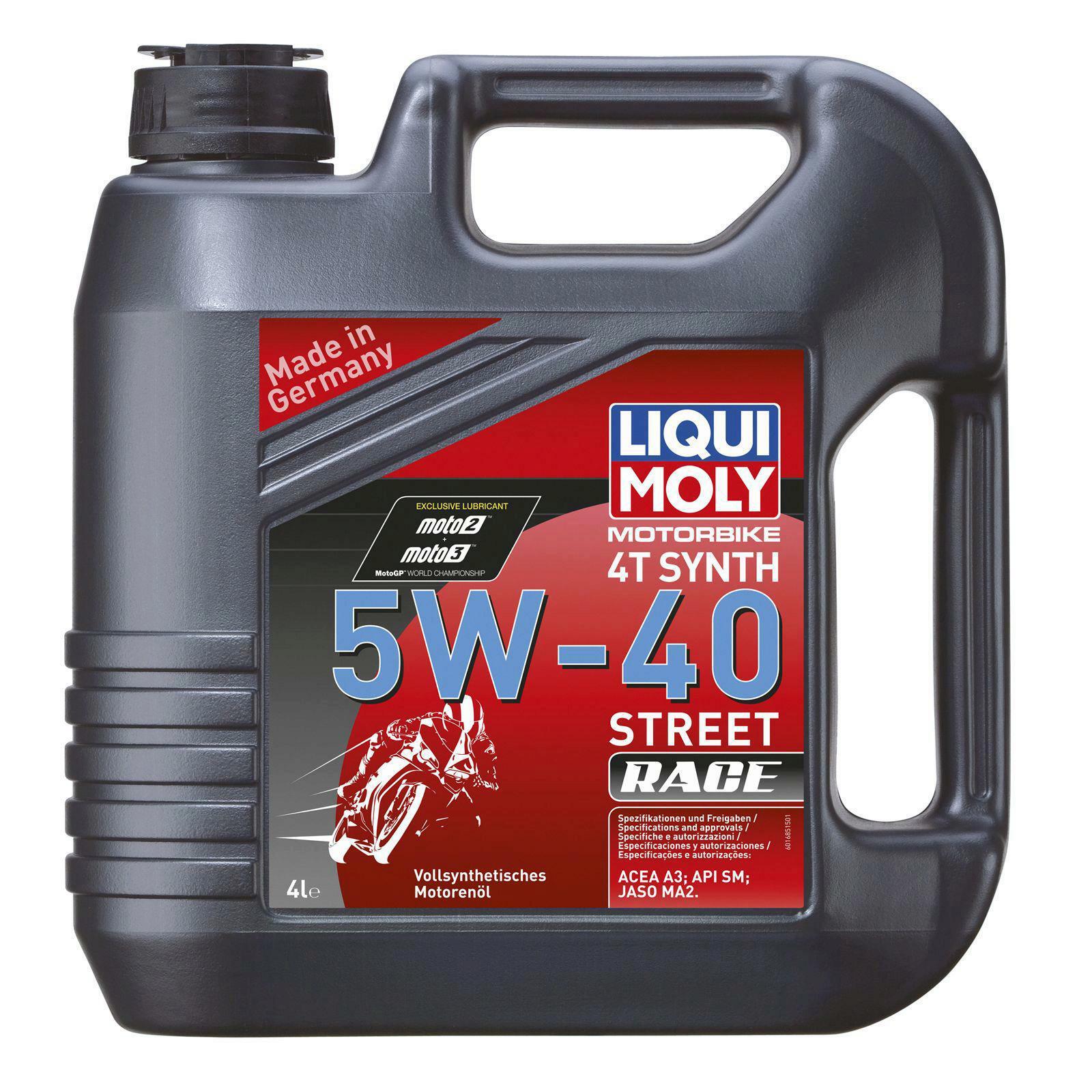 Liqui Moly Motorbike 4T Synth 5W-40 Street Race 4l