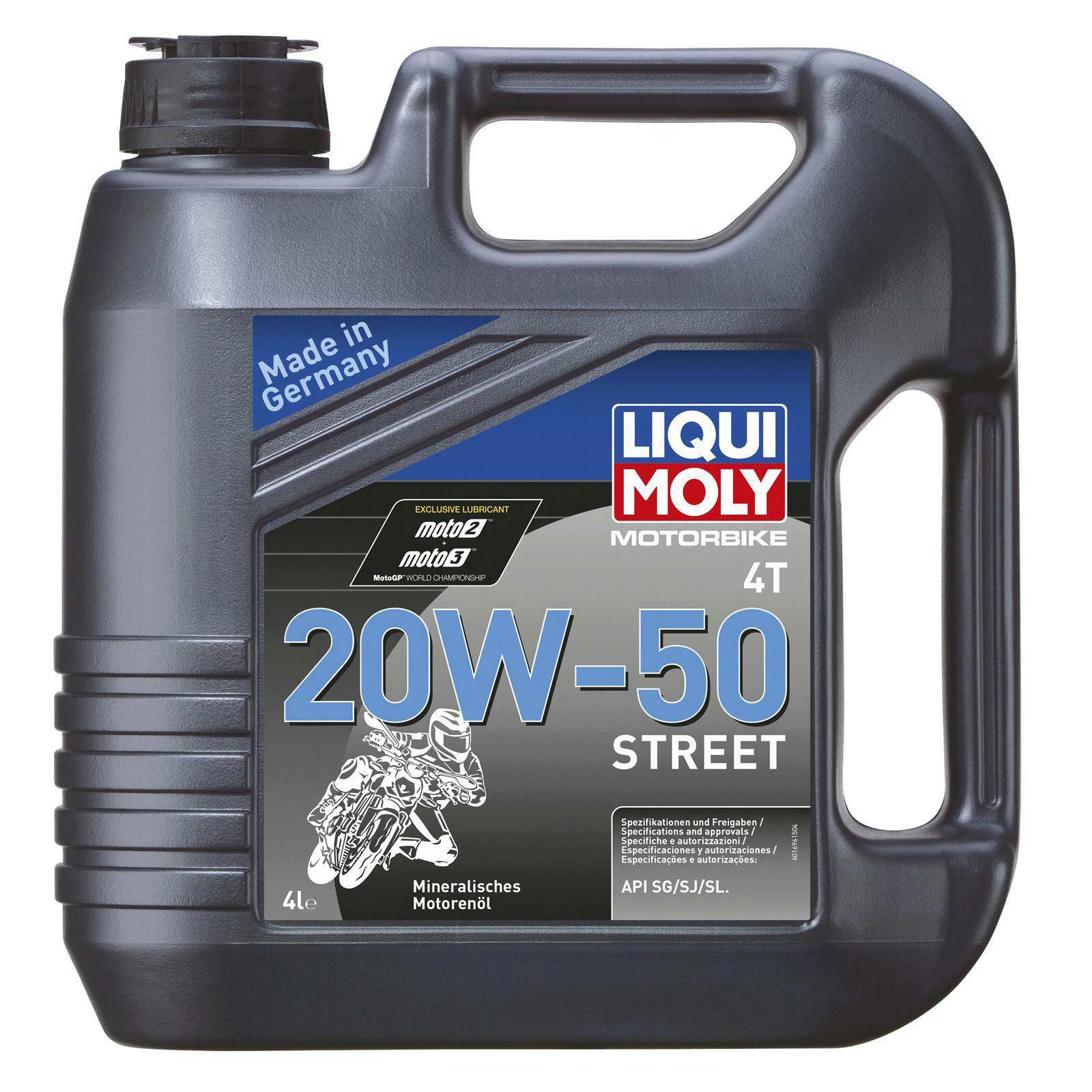 Liqui Moly Motorbike 4T 20W-50 Street 4l