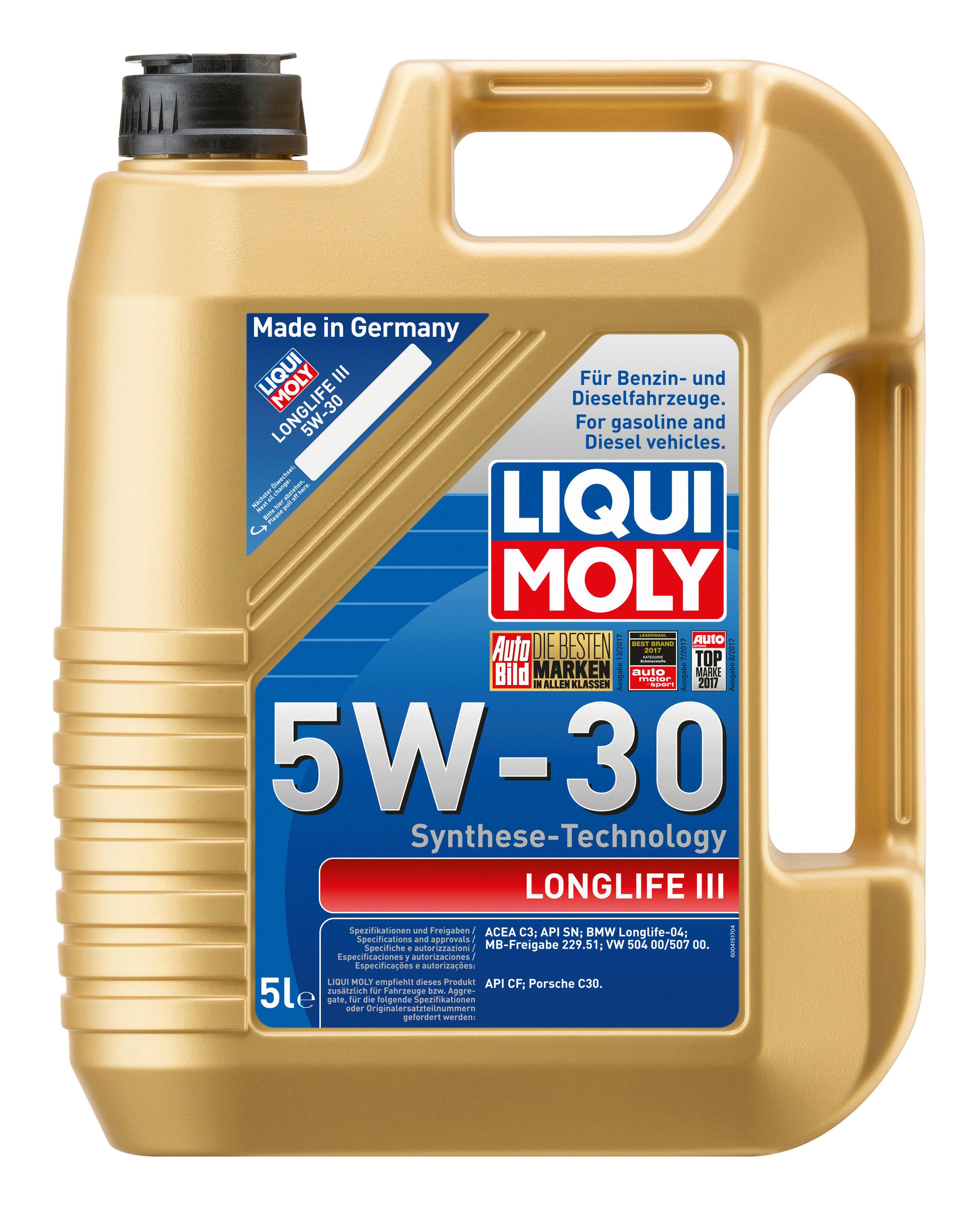 LIQUI MOLY Motoröl Longlife III 5W-30 5L