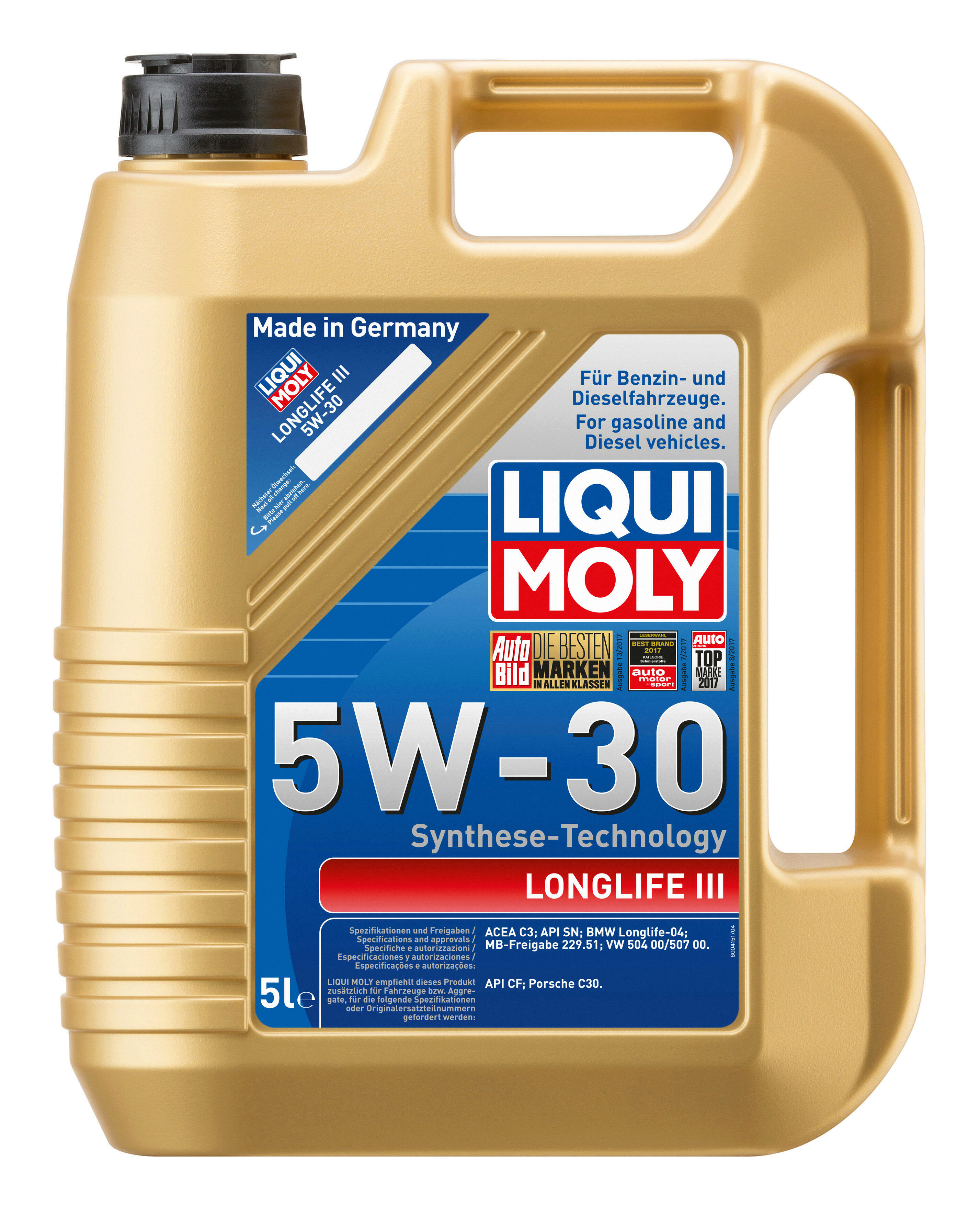 LIQUI MOLY Engine Oil Longlife III 5W-30